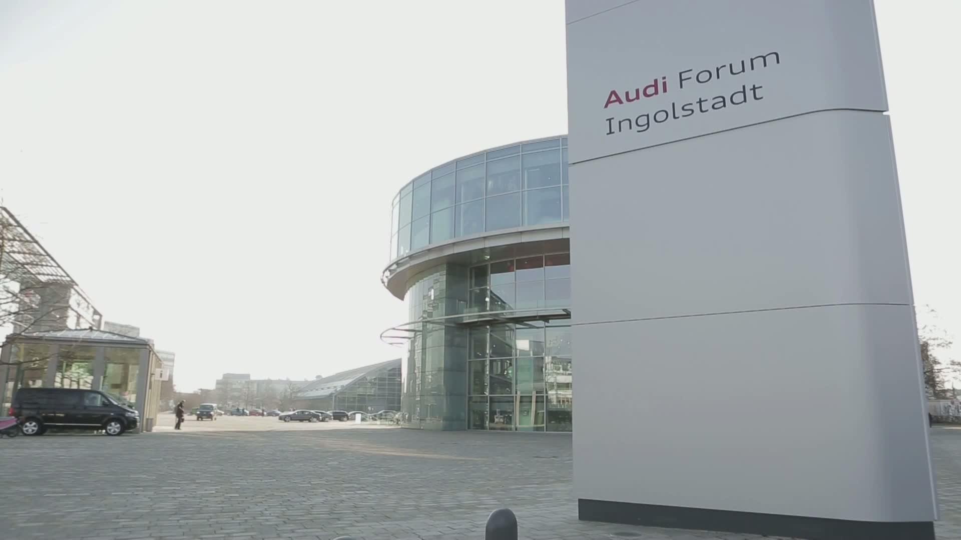 Audi Jahrespressekonferenz 2015 - Footage