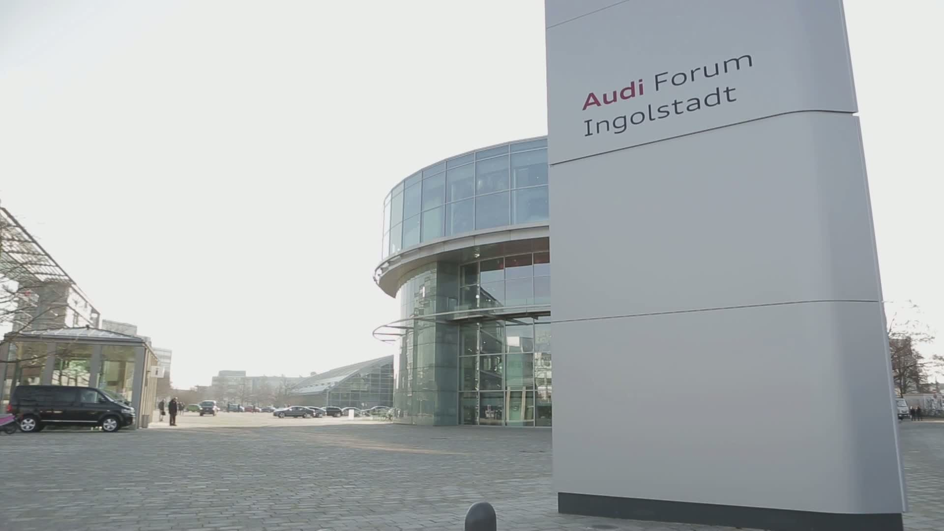 Audi Annual Press Conference 2015 - Footage