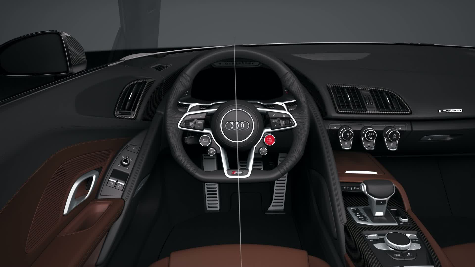 Audi R8 Interior Animation