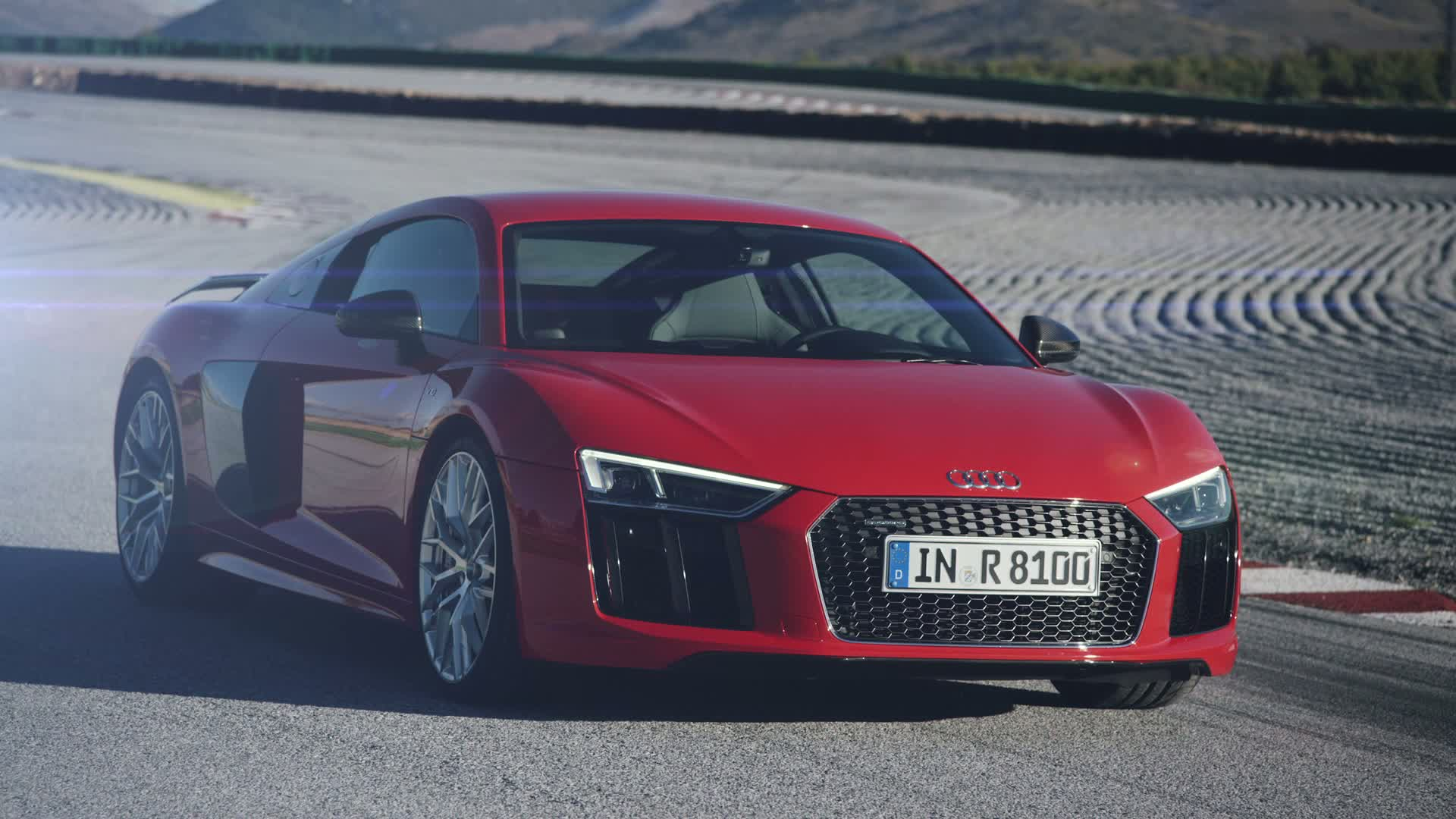 The all new Audi R8 V10 plus - Trailer