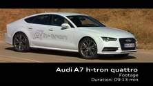 Audi A7 Sportback h-tron quattro - Footage