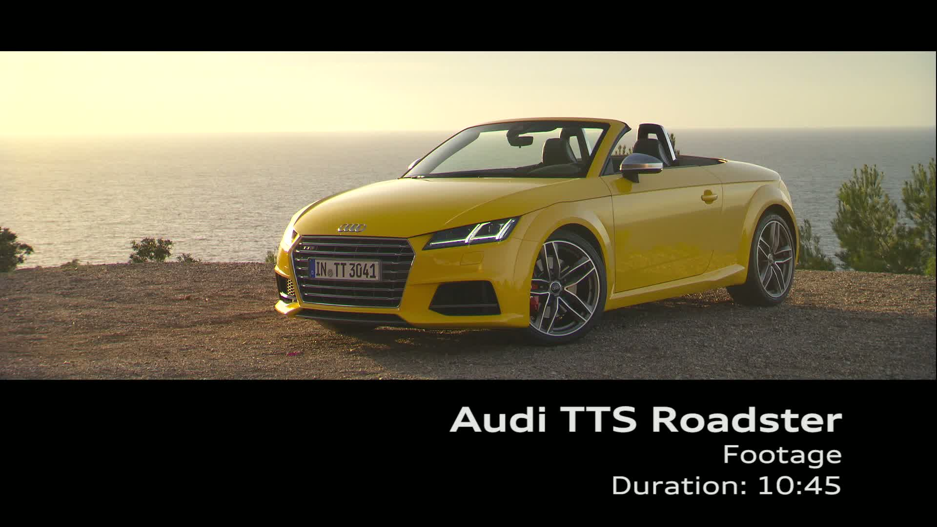 Der TTS Roadster on Location - Footage Mallorca