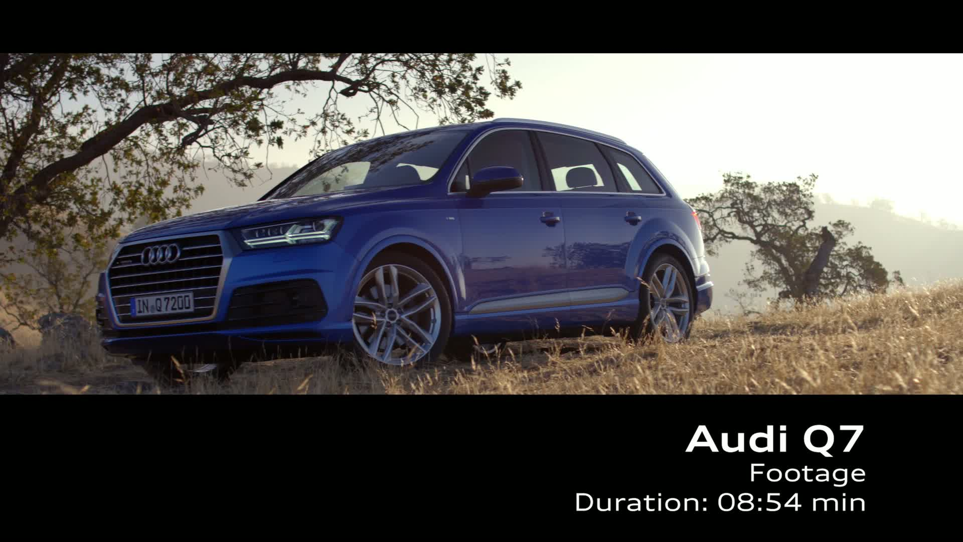 The new Audi Q7 - Footage