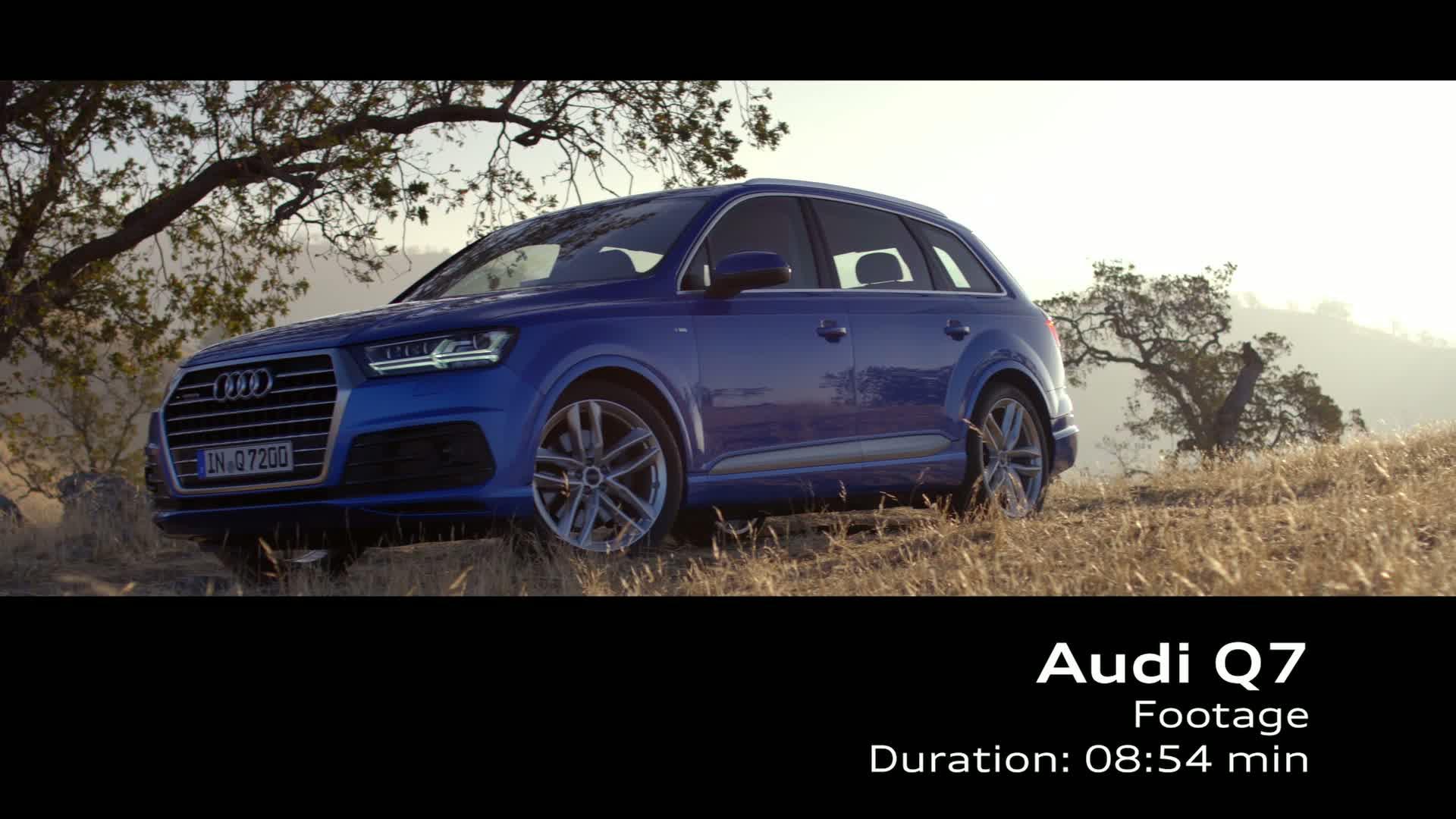 Der neue Audi Q7 - Footage