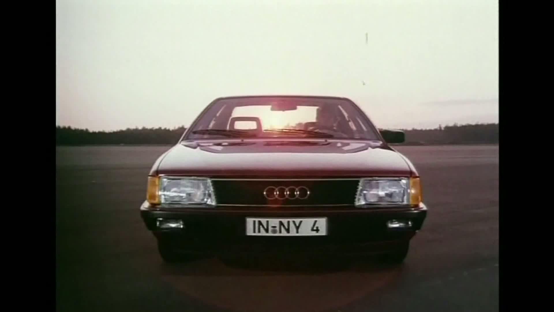 The Audi 100 C3