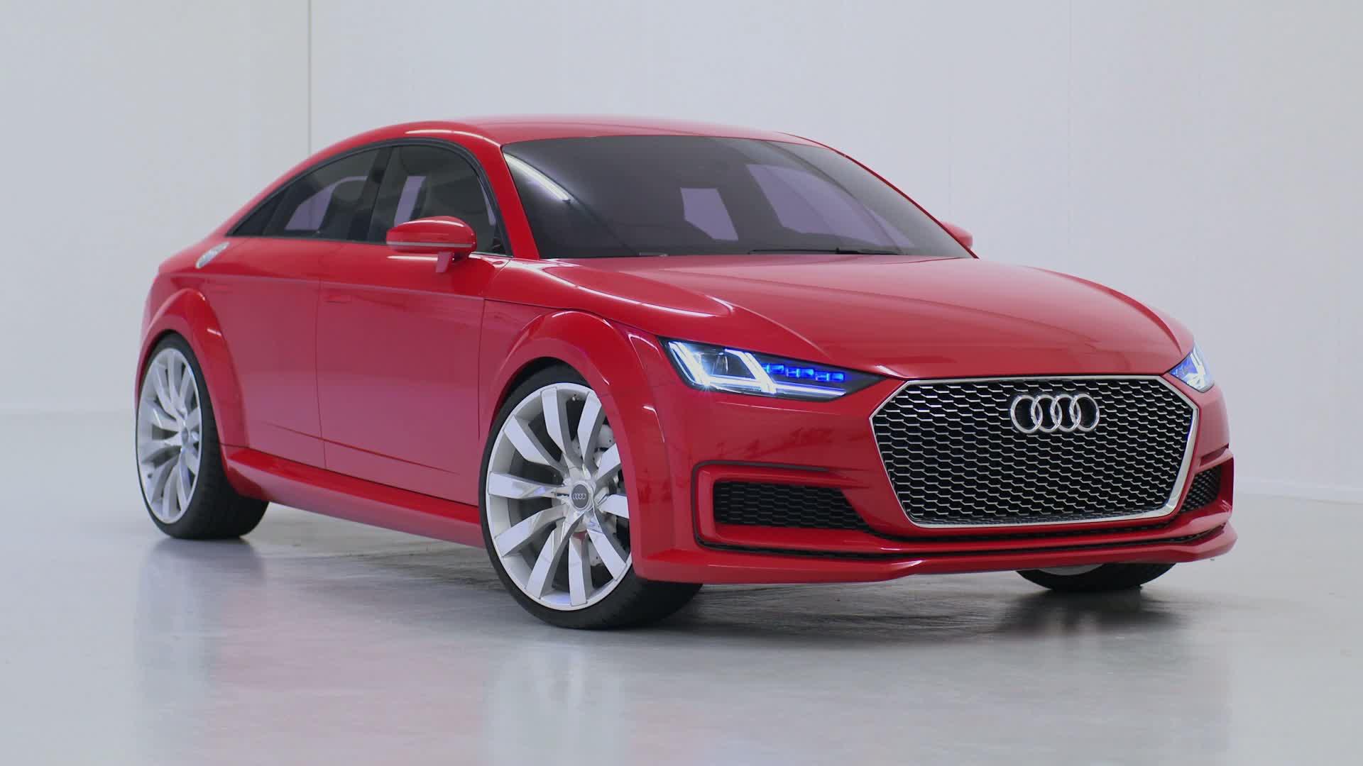 Der Audi TT Sportback concept - Footage