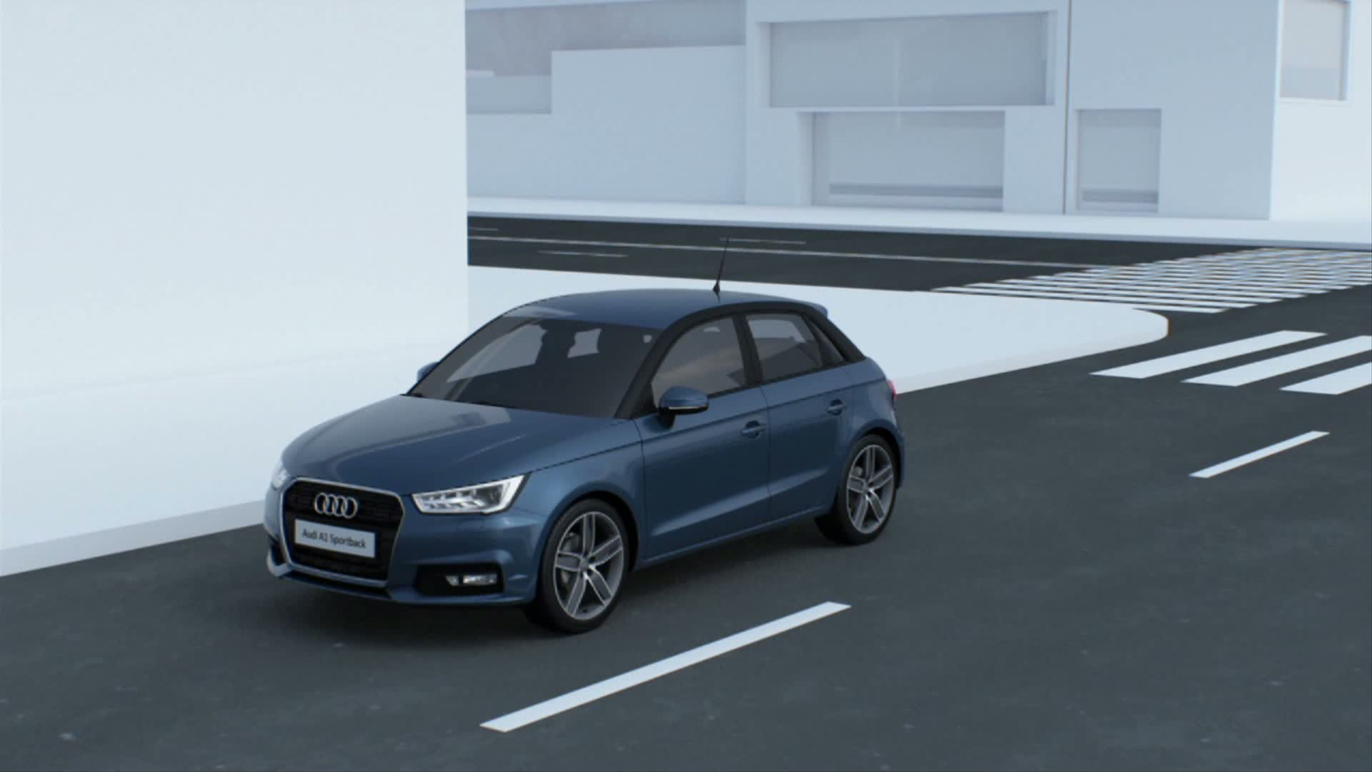 The new Audi A1 Sportback - Animation