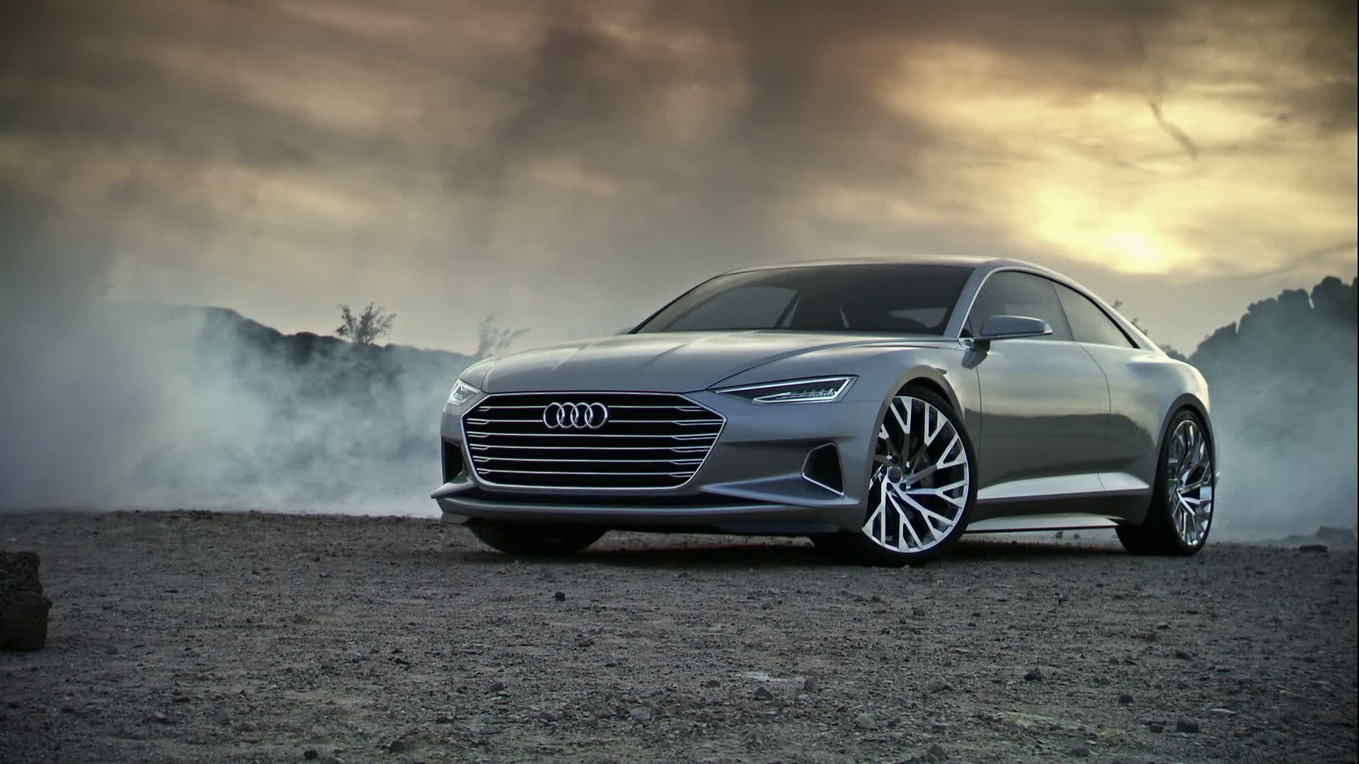 The Audi prologue show car – launching into a new design era