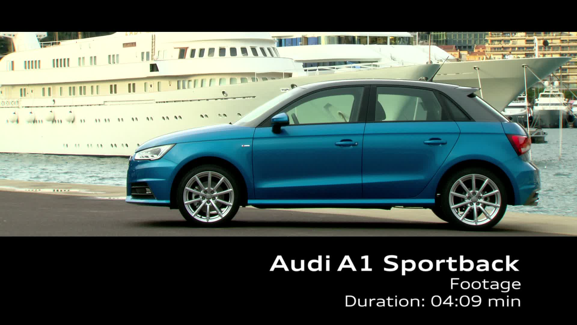 The new Audi A1 Sportback - Footage