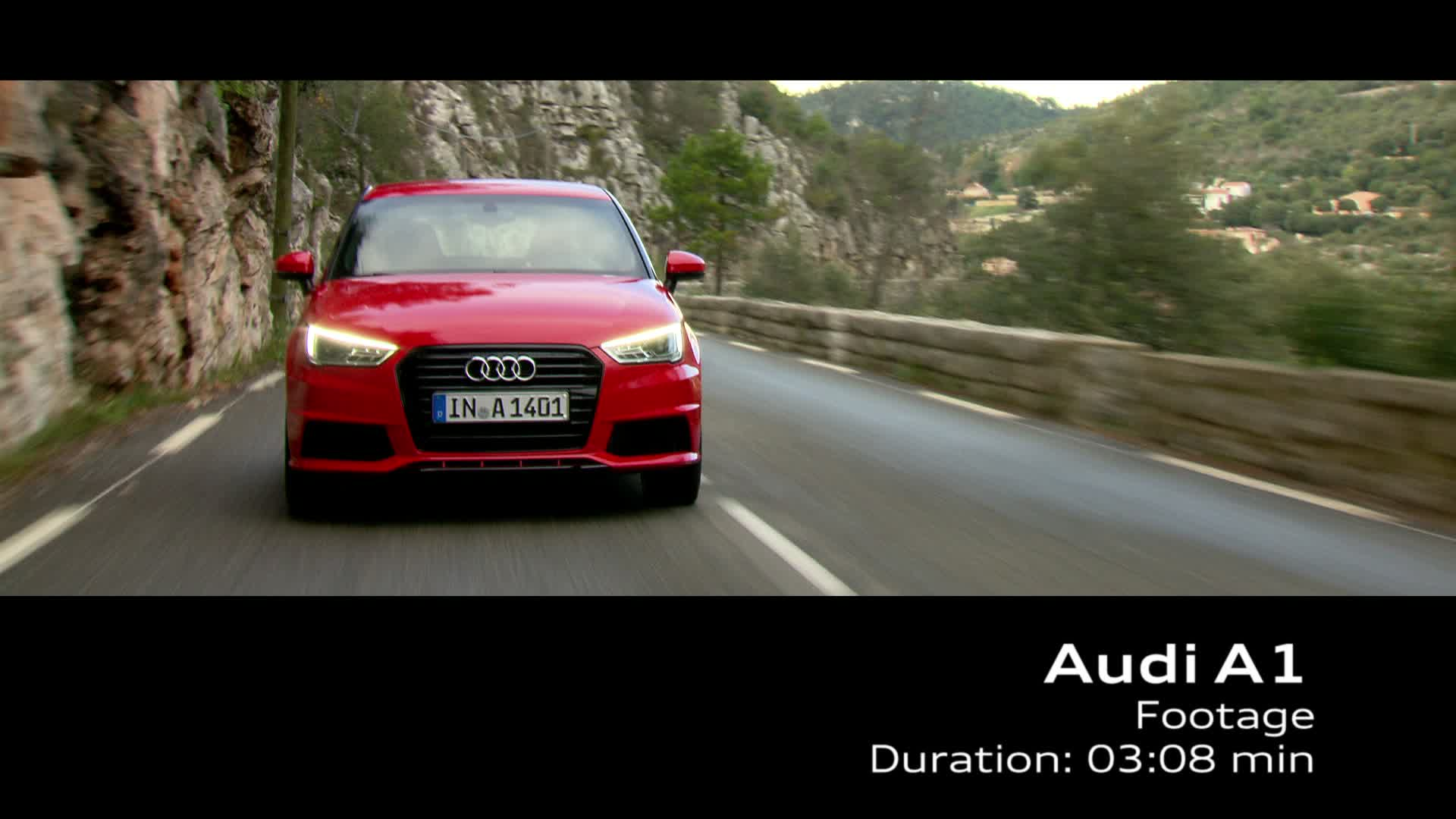 The new Audi A1 - Footage