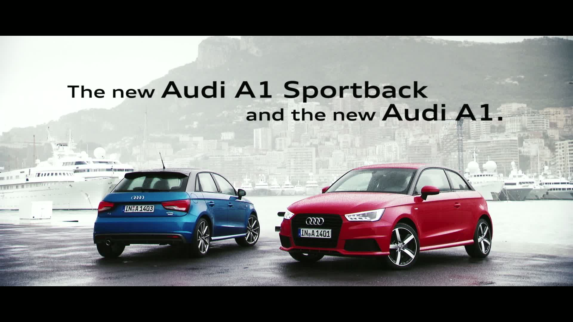 The new Audi A1 and A1 Sportback - Trailer