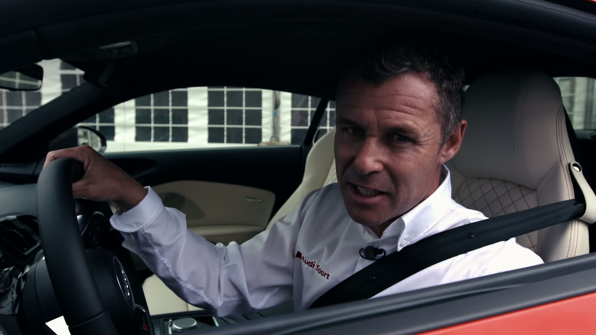 Tom Kristensen presents the unique Le Mans race track