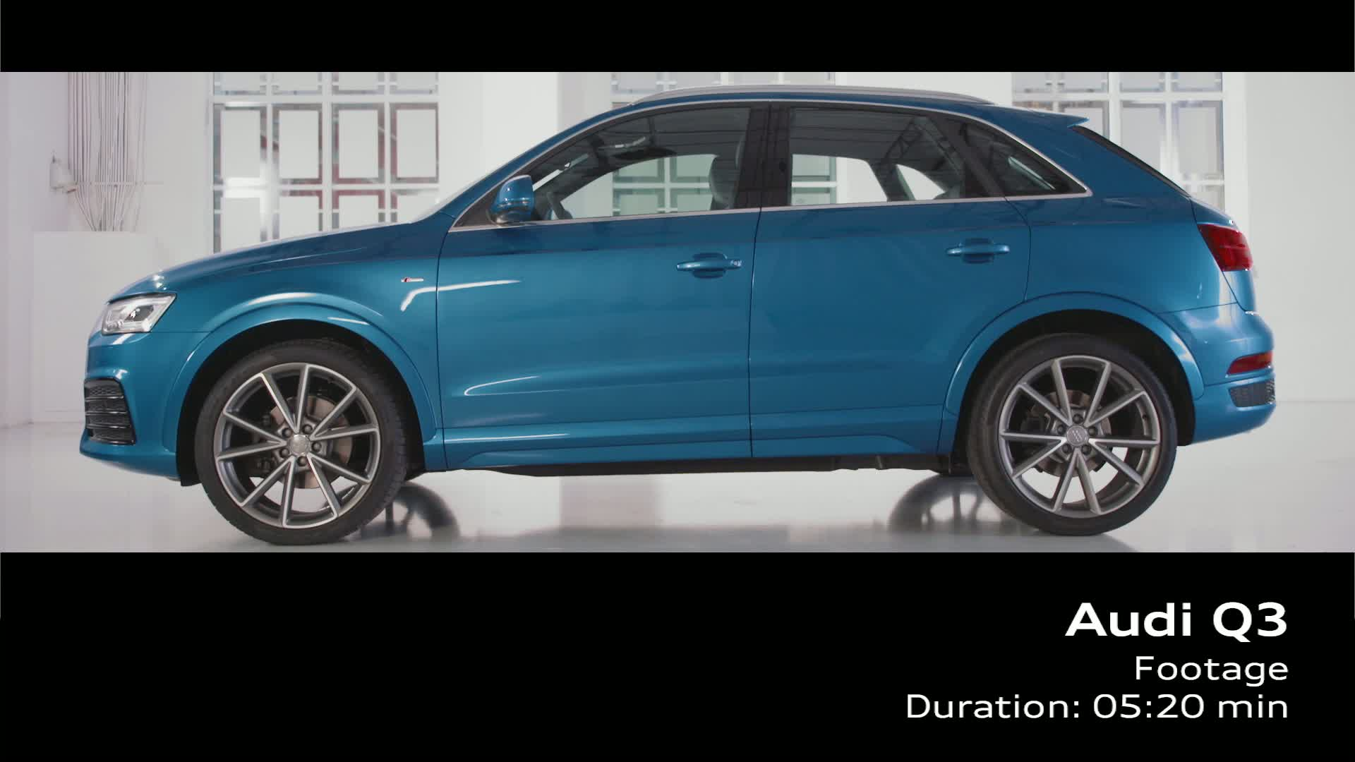 The new Audi Q3 - Footage