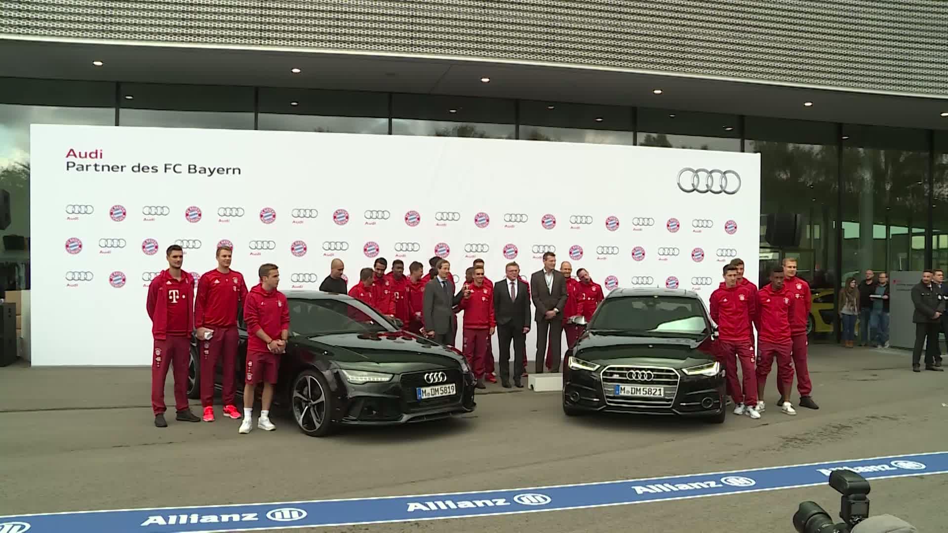 FC Bayern Munich - Footage