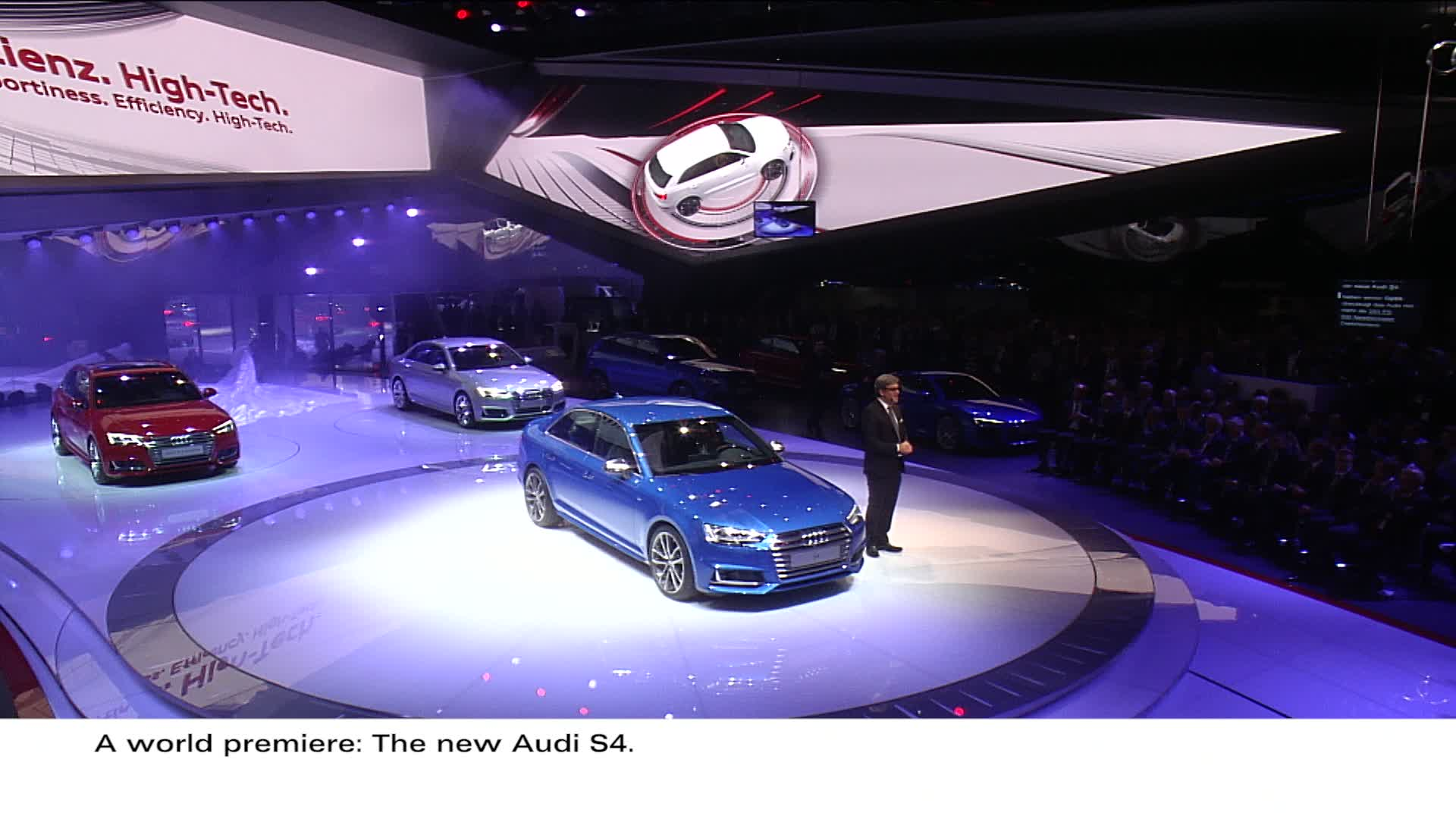 Audi press conference at the IAA 2015 - Highlights
