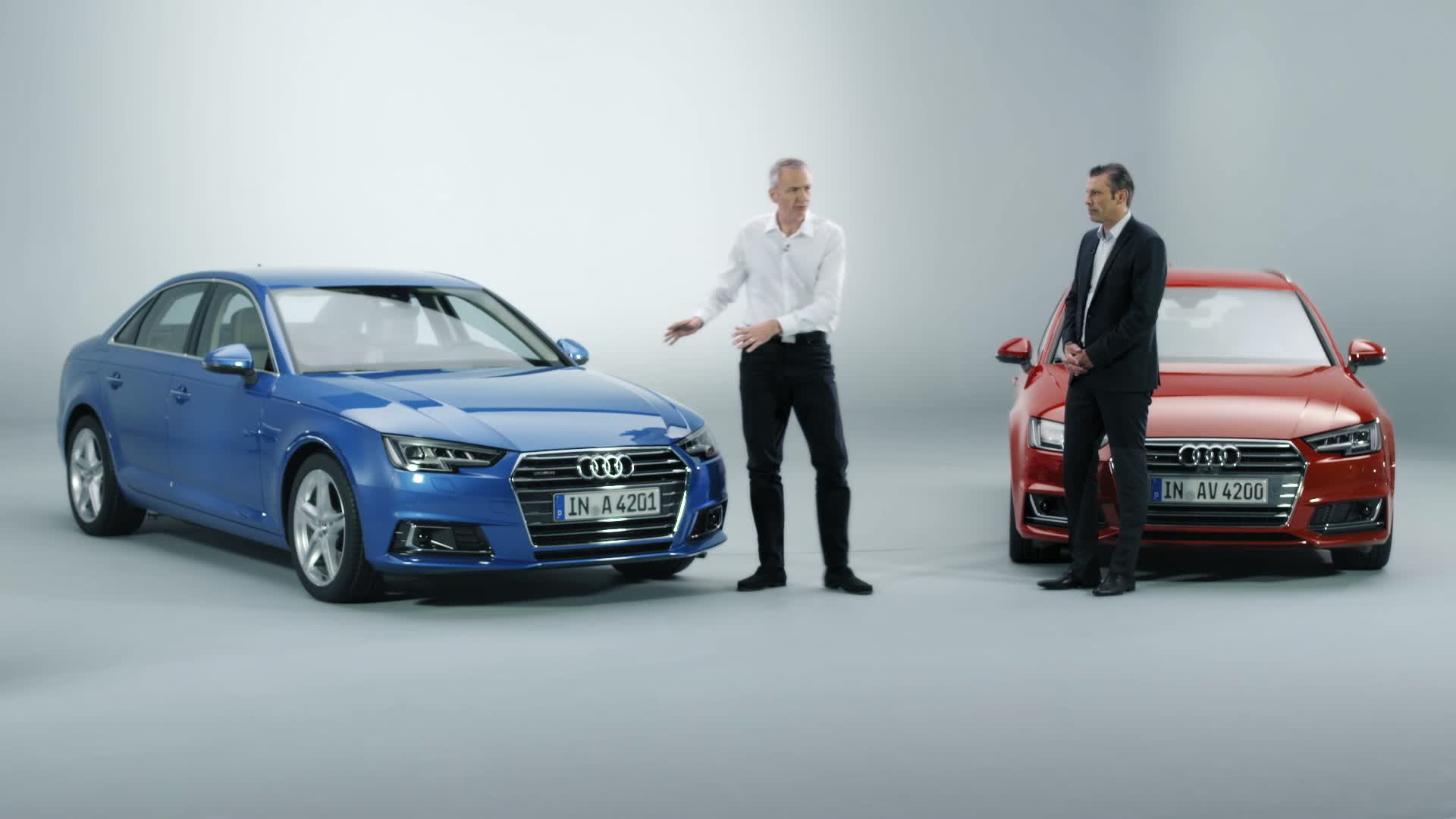 Exclusive world premiere of the new Audi A4