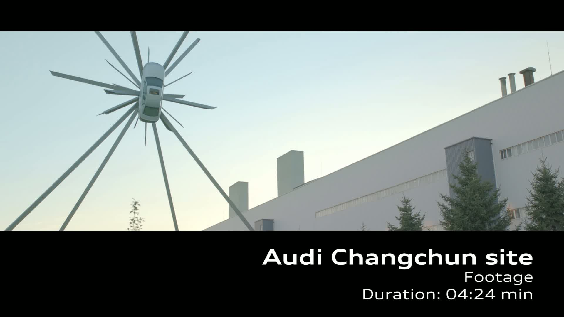 AUDI AG site in China - Changchun