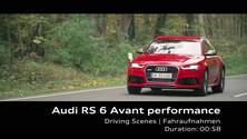 Audi RS 6 Avant performance - Footage