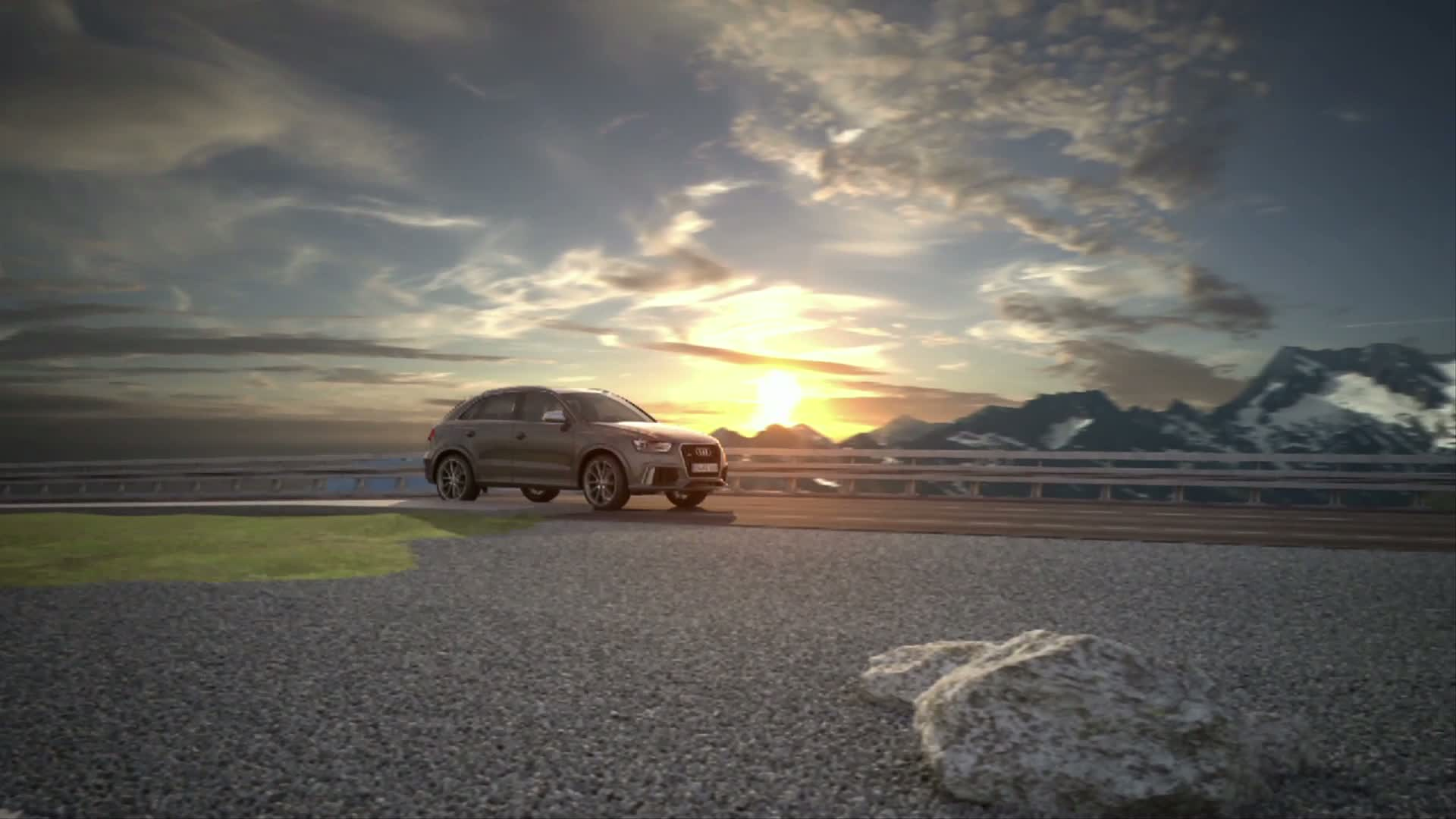 The Audi RS Q3 - Animation