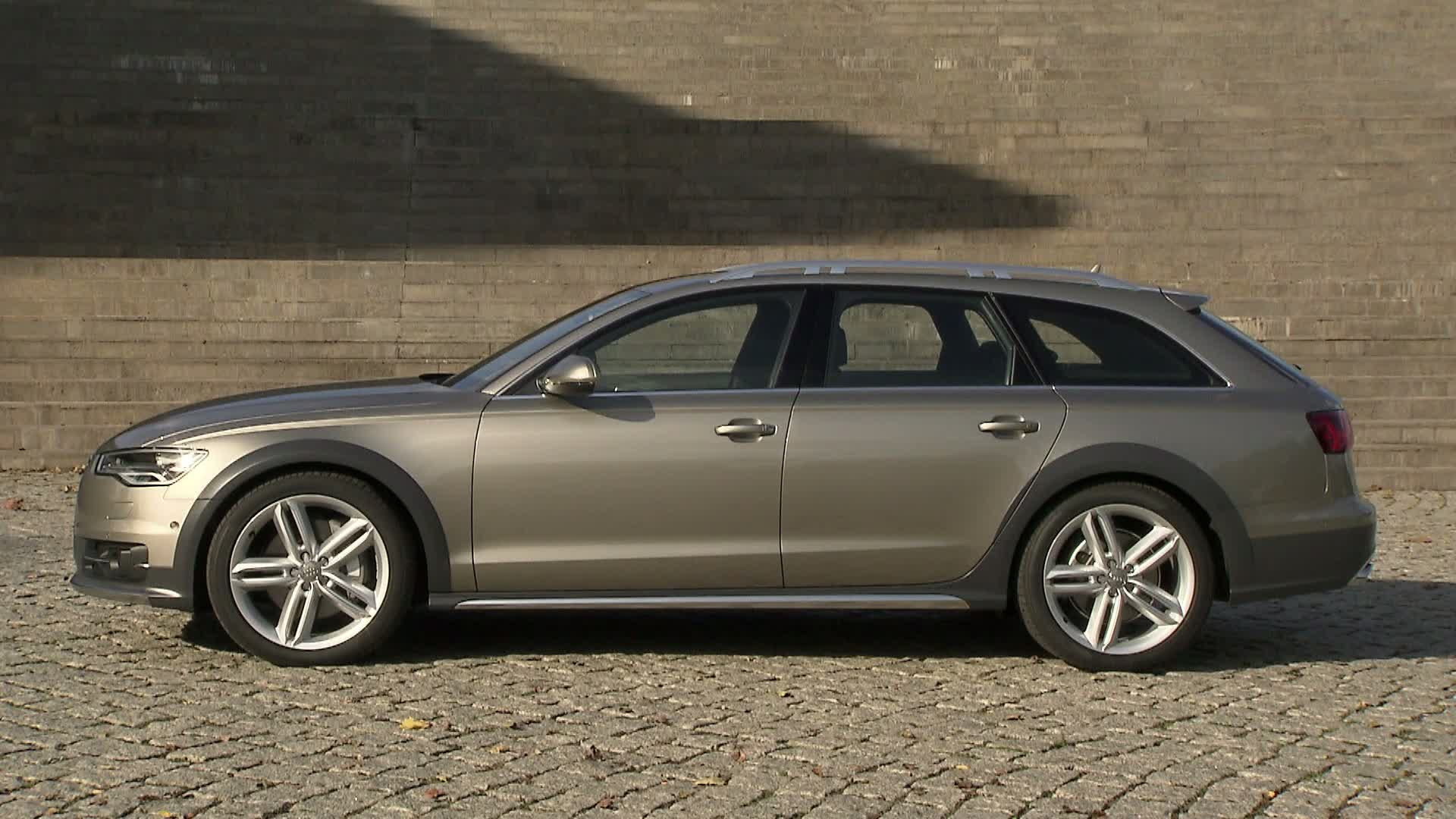 The Audi A6 allroad quattro - Footage