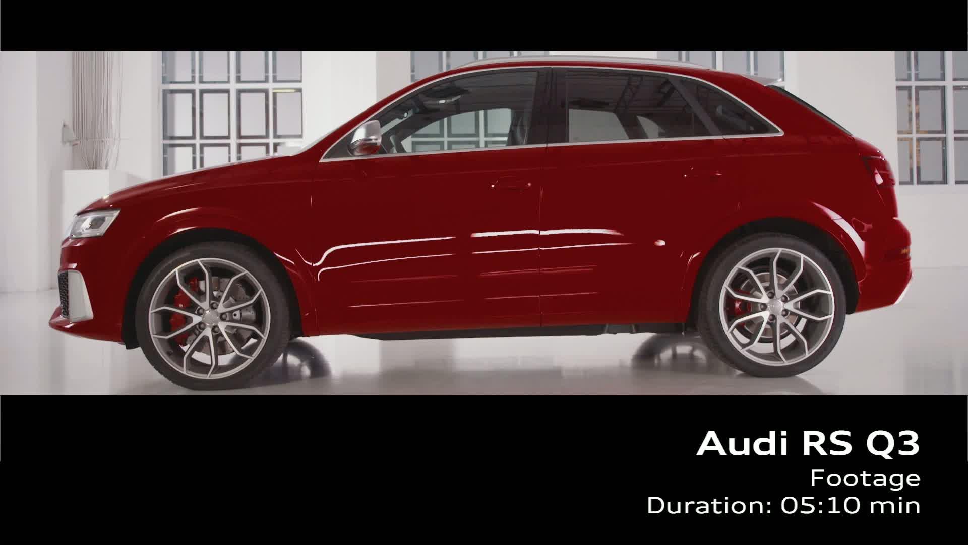 Der neue Audi RS Q3 - Footage