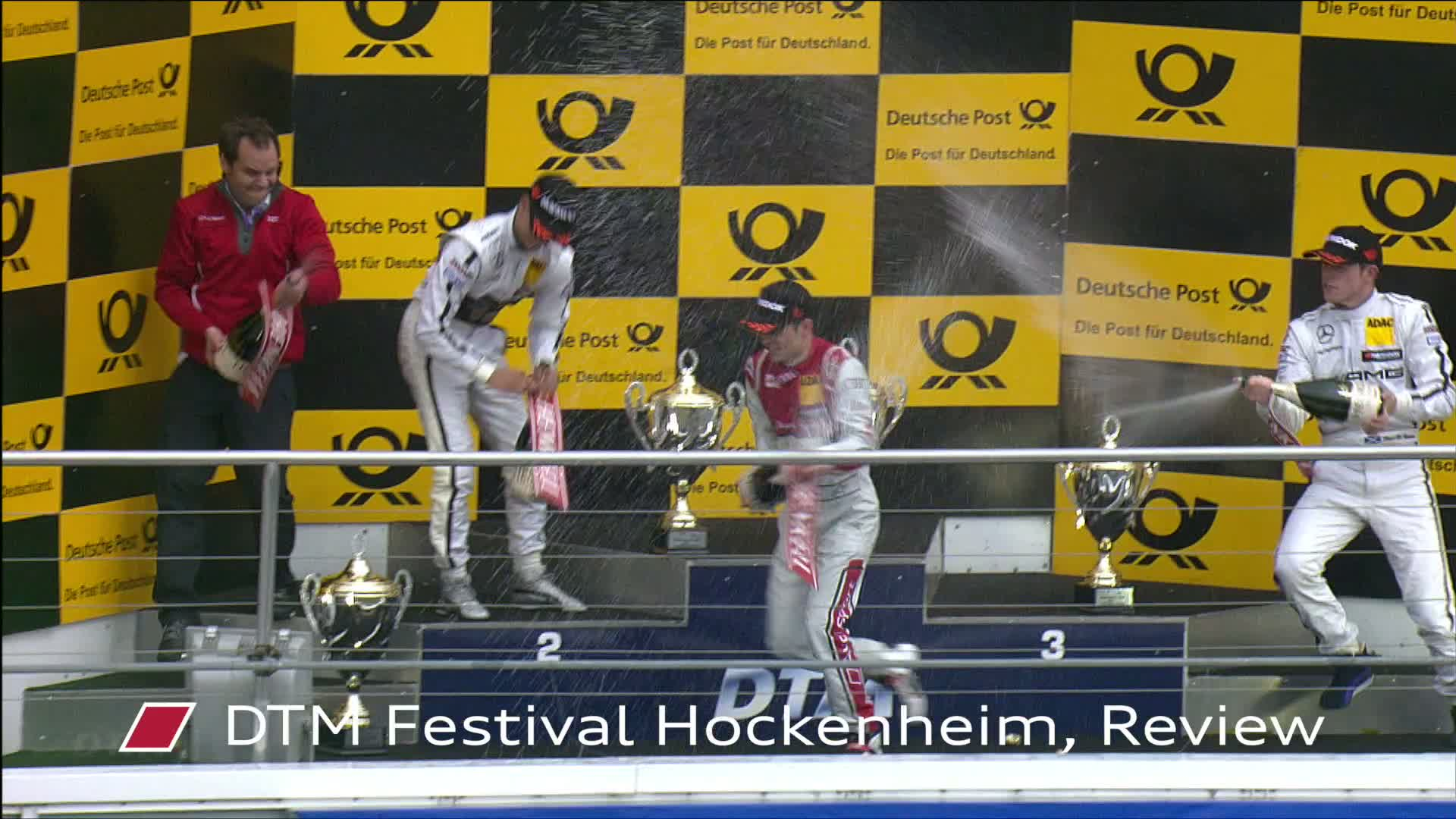 60 Seconds of Audi Sport 22/2015 - DTM Festival Hockenheim, Rückblick