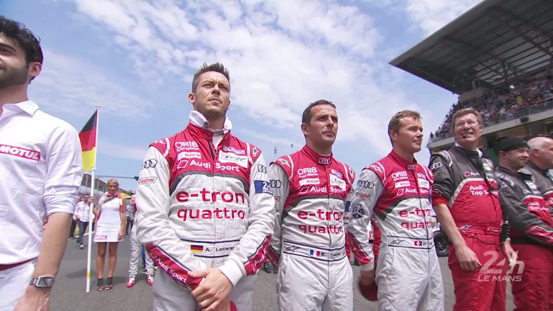 60 Seconds of Audi Sport 40/2015 - WEC Le Mans, Rennstart