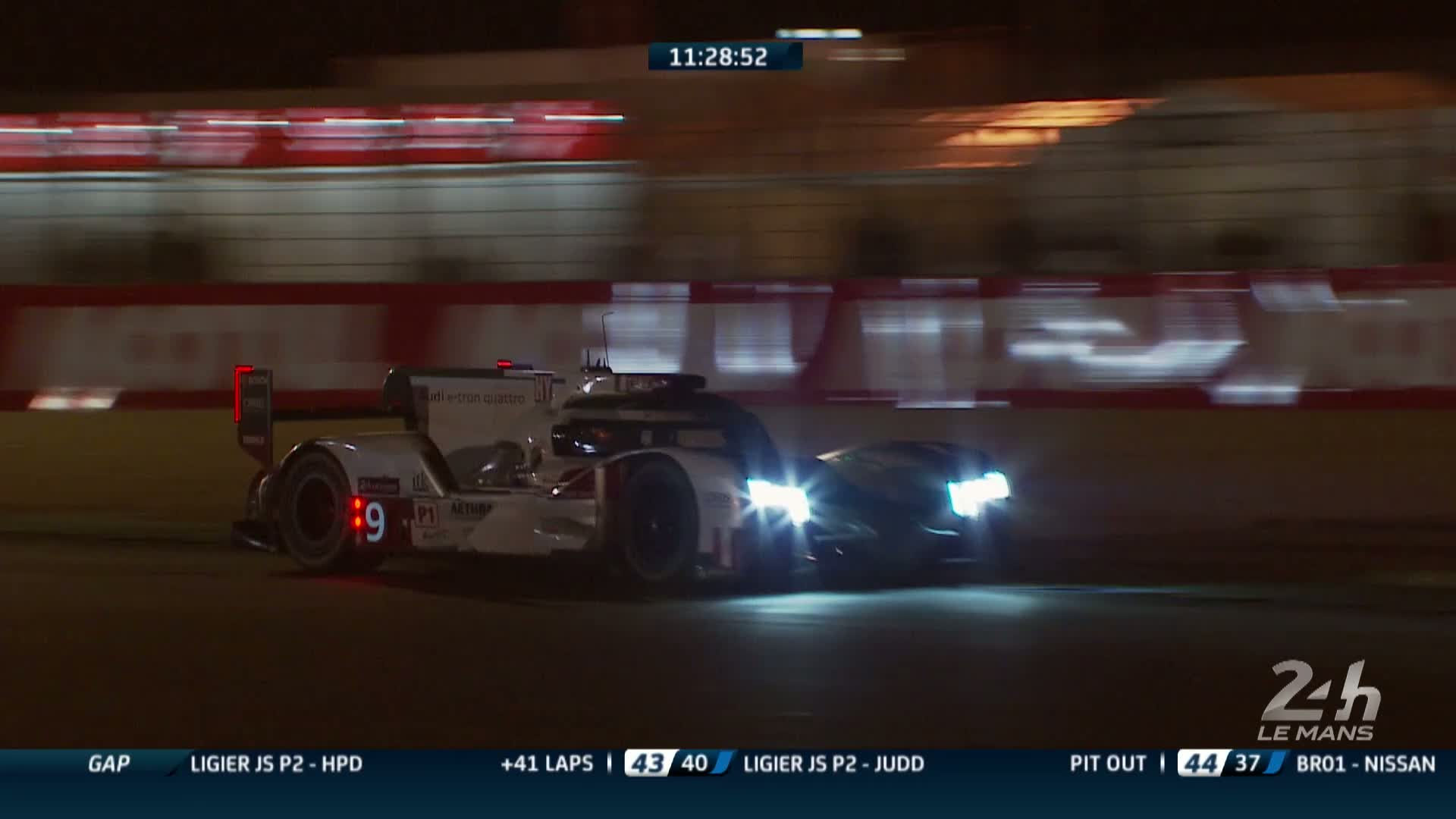 60 Seconds of Audi Sport 42/2015 - WEC Le Mans, nach 18 Stunden