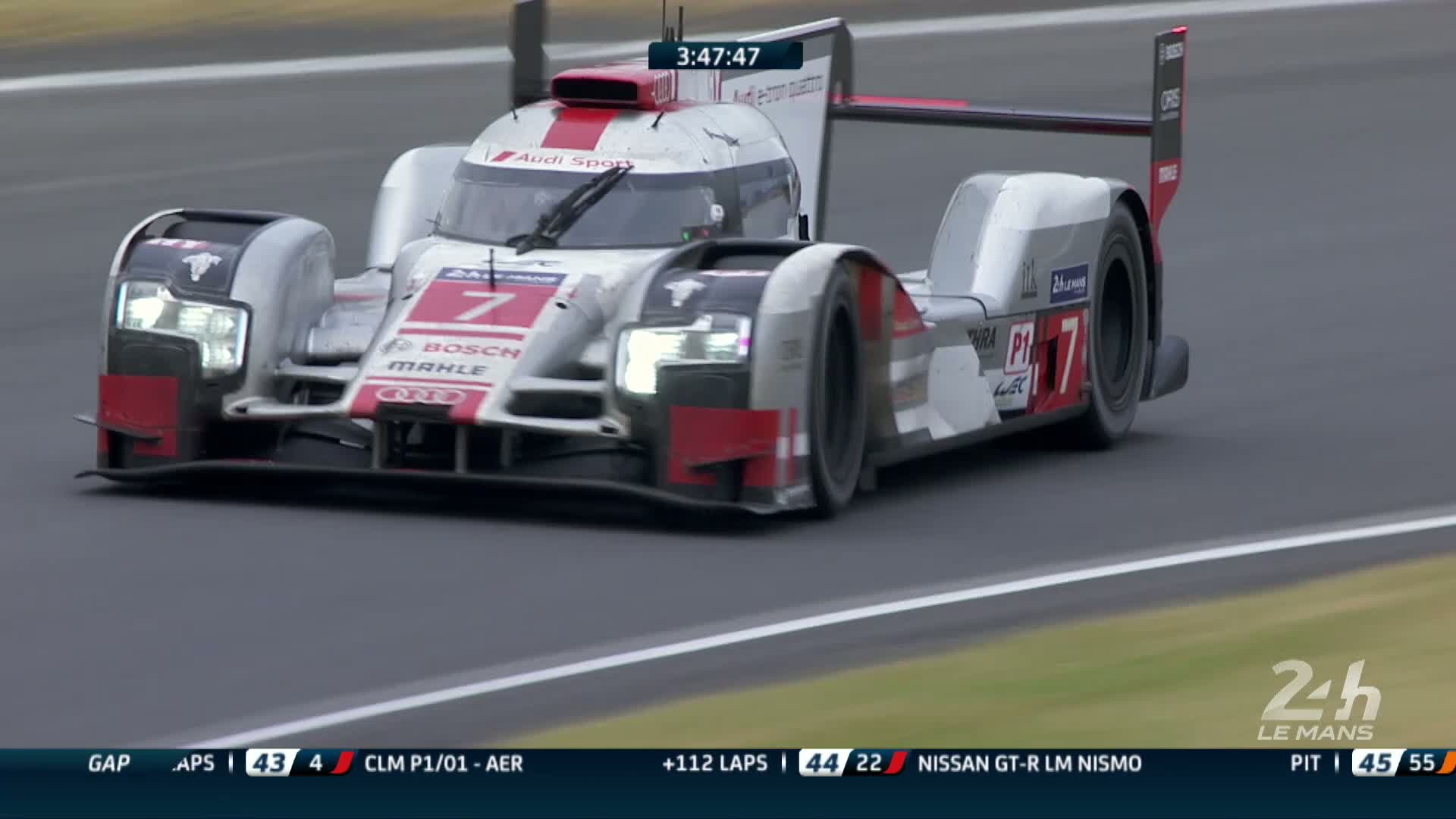 60 Seconds of Audi Sport 43/2015 - WEC Le Mans, Ziel