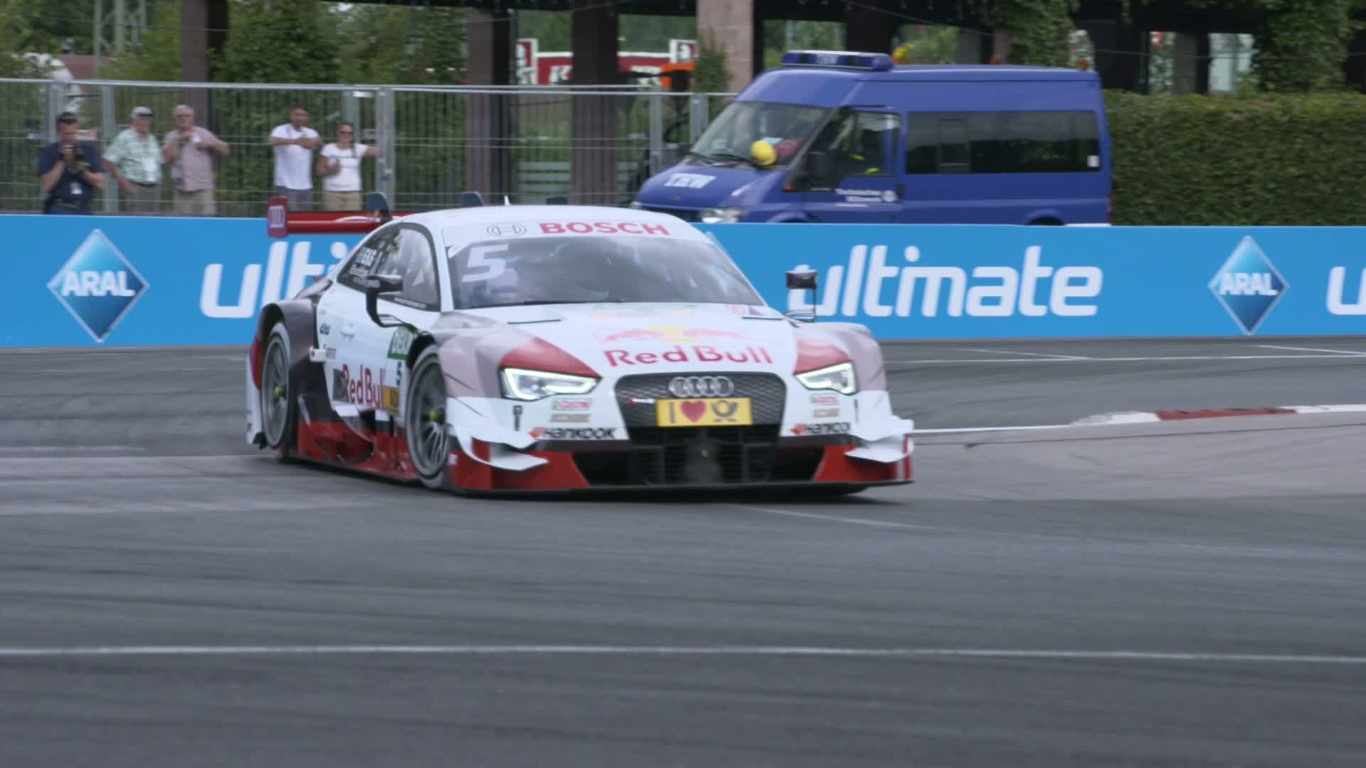 60 Seconds of Audi Sport 45/2015 - DTM Norisring, 25 Jahre später