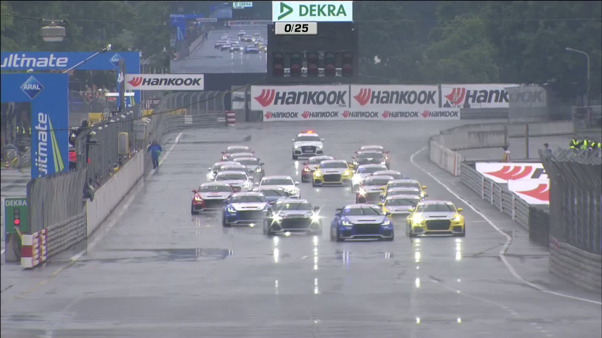 60 Seconds of Audi Sport 46/2015 - Audi Sport TT Cup Norisring, Rennen 1