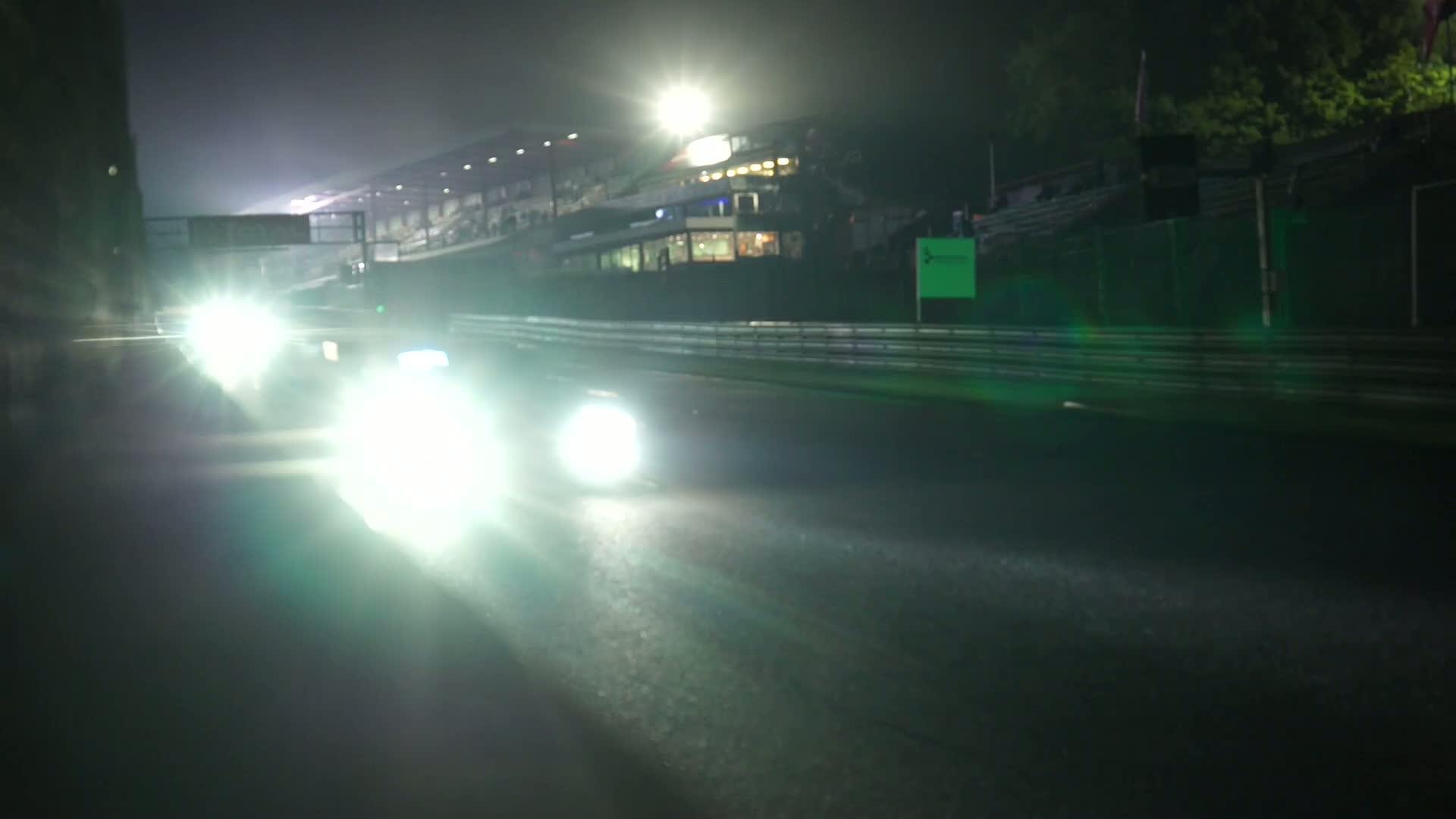 60 Seconds of Audi Sport 58/2015 – 24h Spa, Nachtschicht