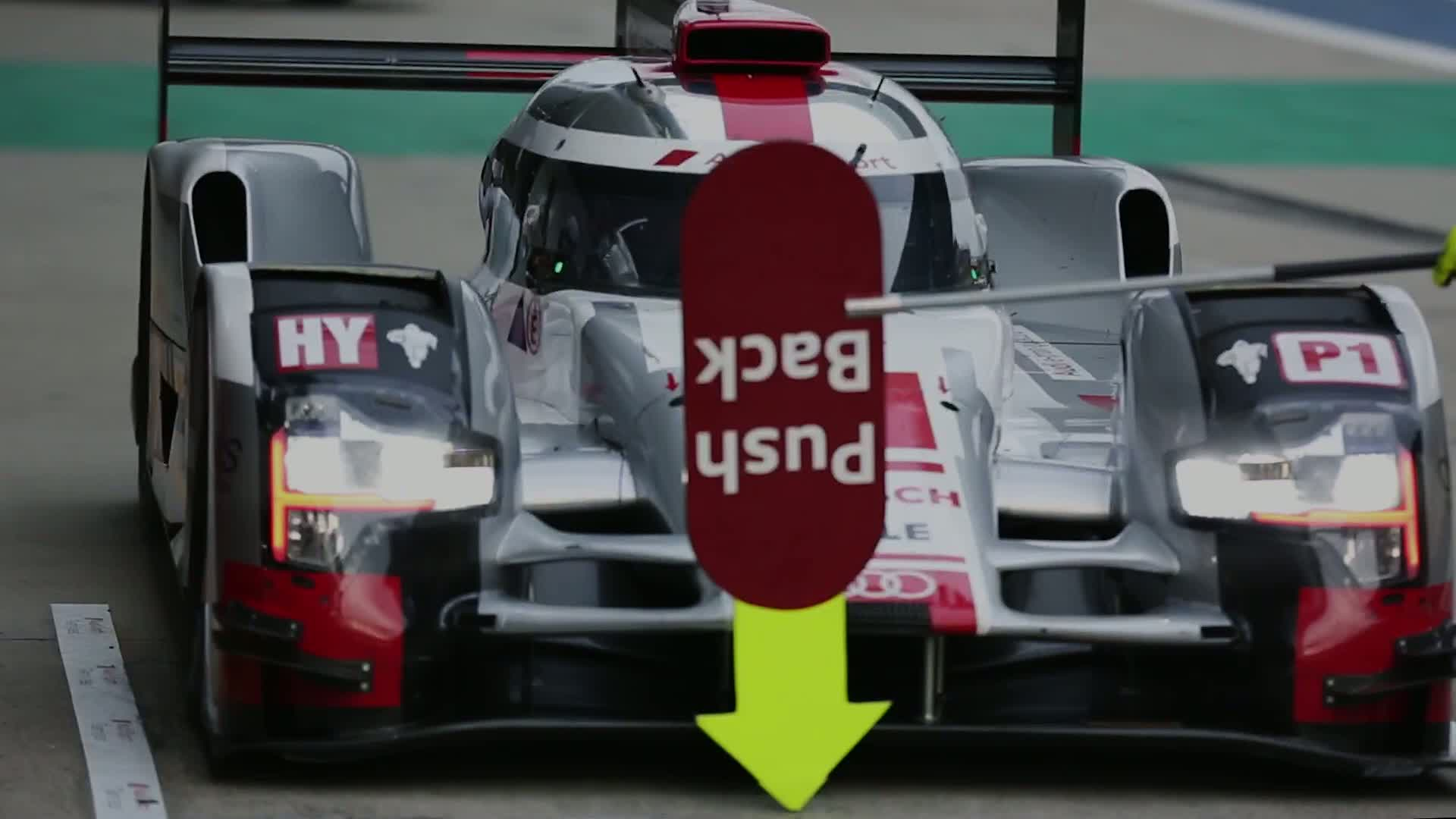 60 Seconds of Audi Sport 100/2015 - WEC Shanghai, Track vs. tyre