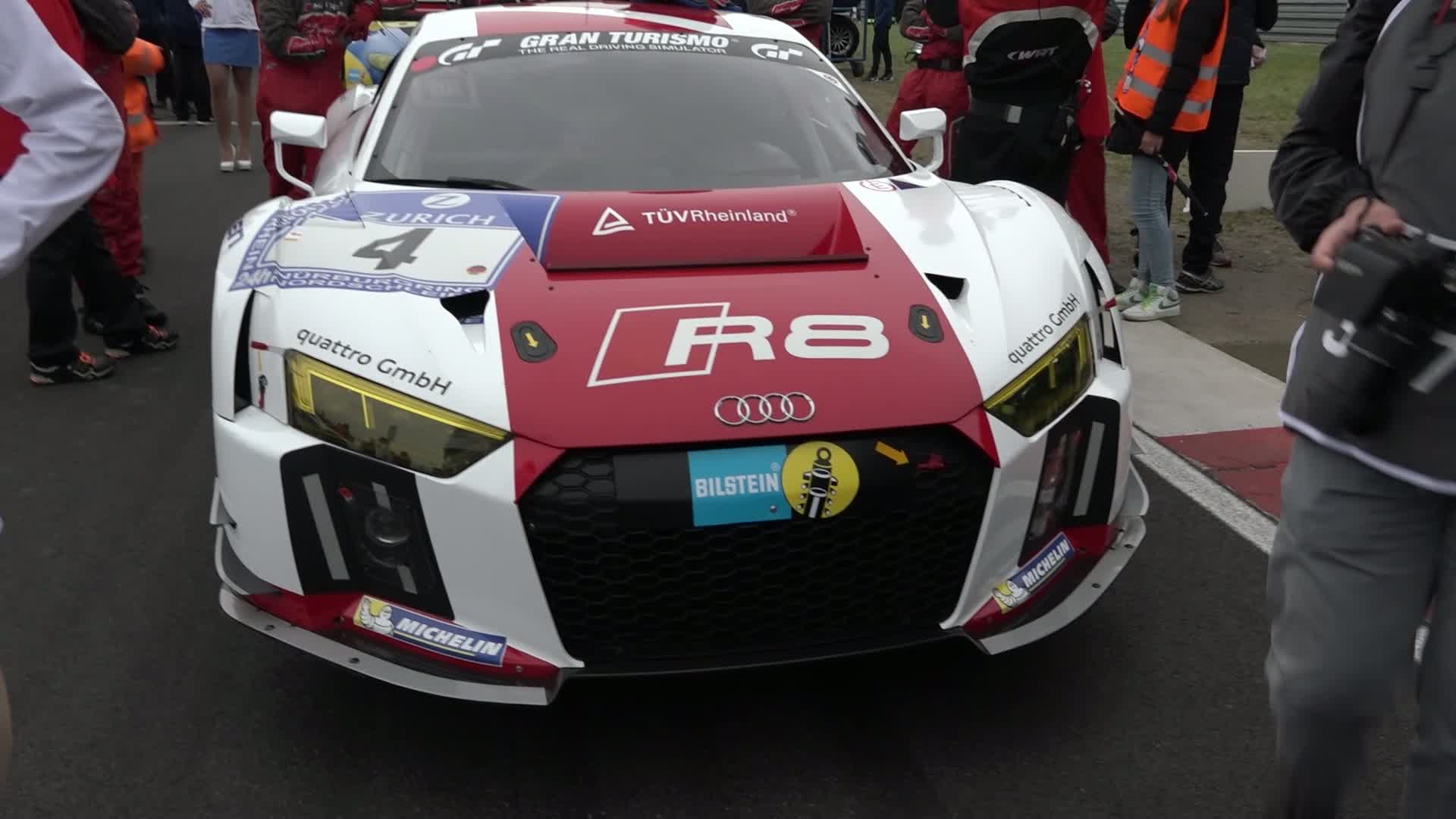60 Seconds of Audi Sport 26/2015 - 24h Nürburgring, start