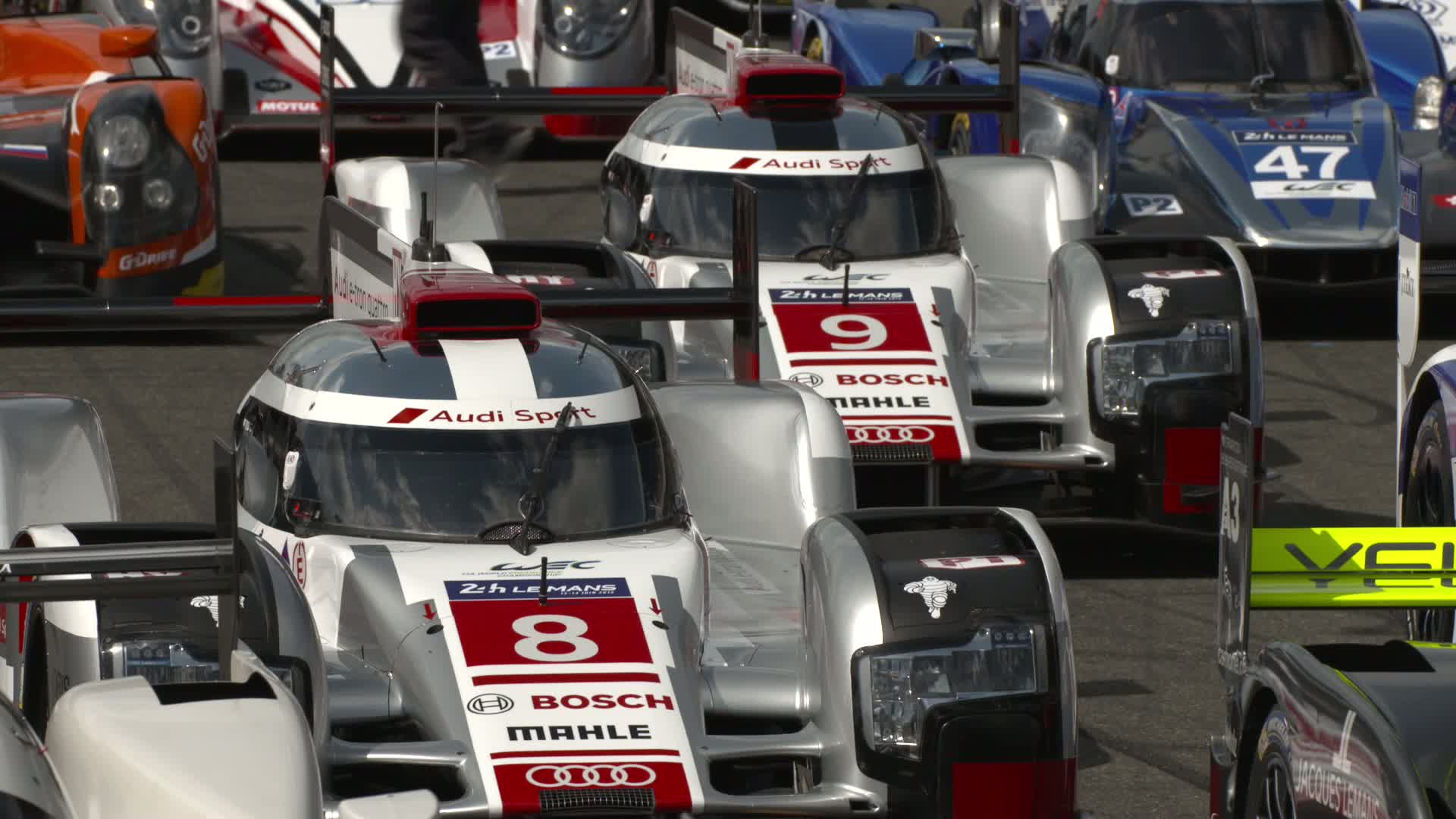 60 Seconds of Audi Sport 31/2015 - Le Mans Pre-Test Day 1