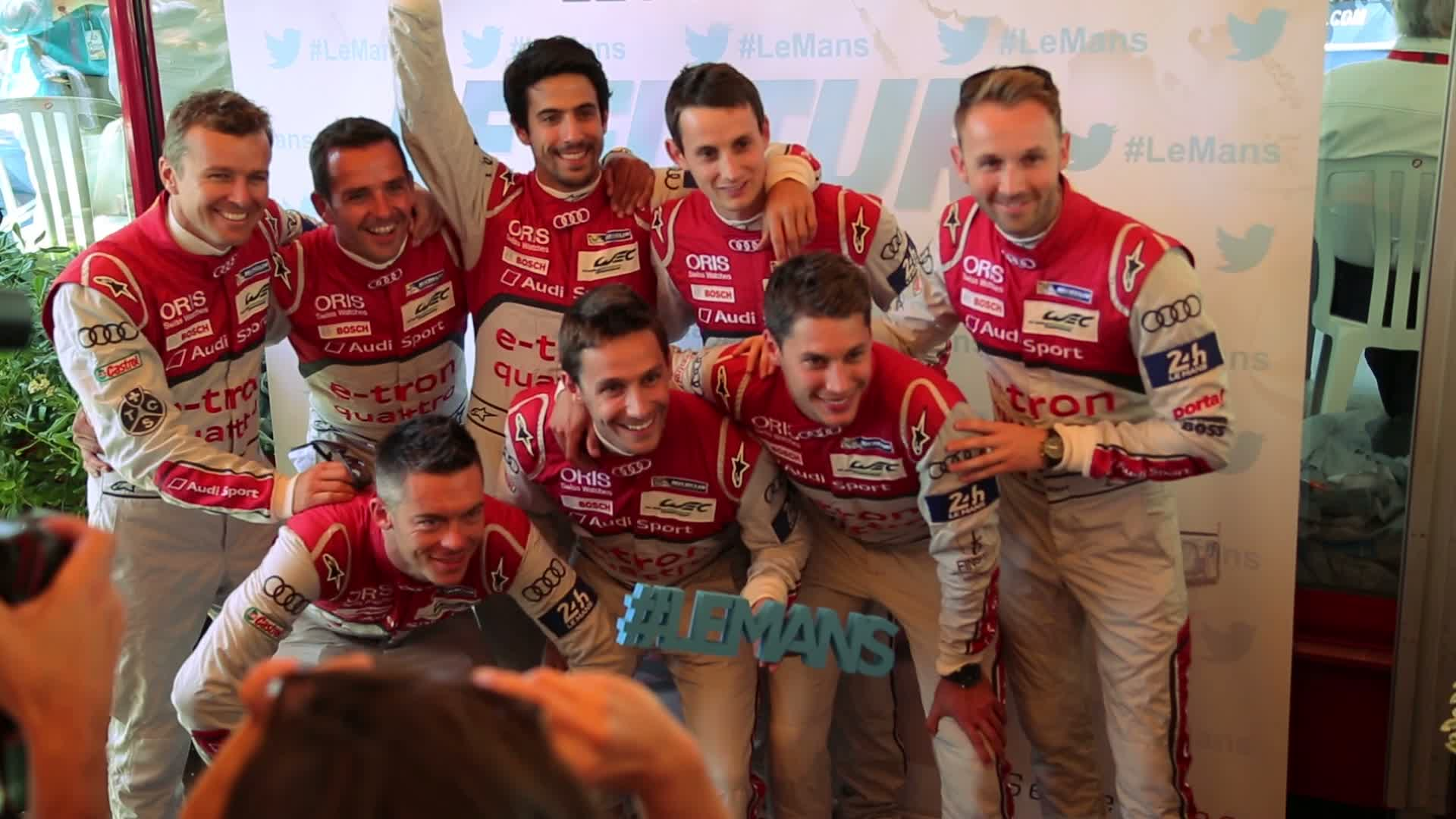 60 Seconds of Audi Sport 34/2015 - 24h Le Mans, Scrutineering