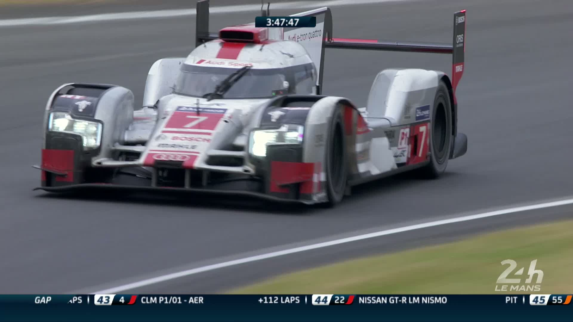 60 Seconds of Audi Sport 43/2015 - WEC Le Mans, Finish
