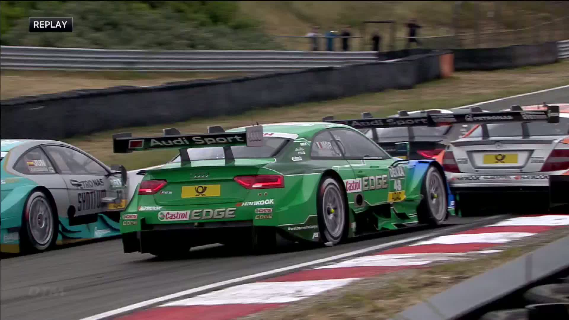 60 Seconds of Audi Sport 53/2015 - DTM Zandvoort, Race 2