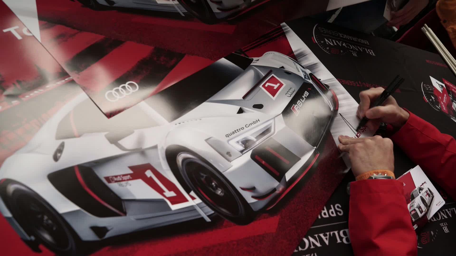 60 Seconds of Audi Sport 56/2015 - 24h Spa, Sideline