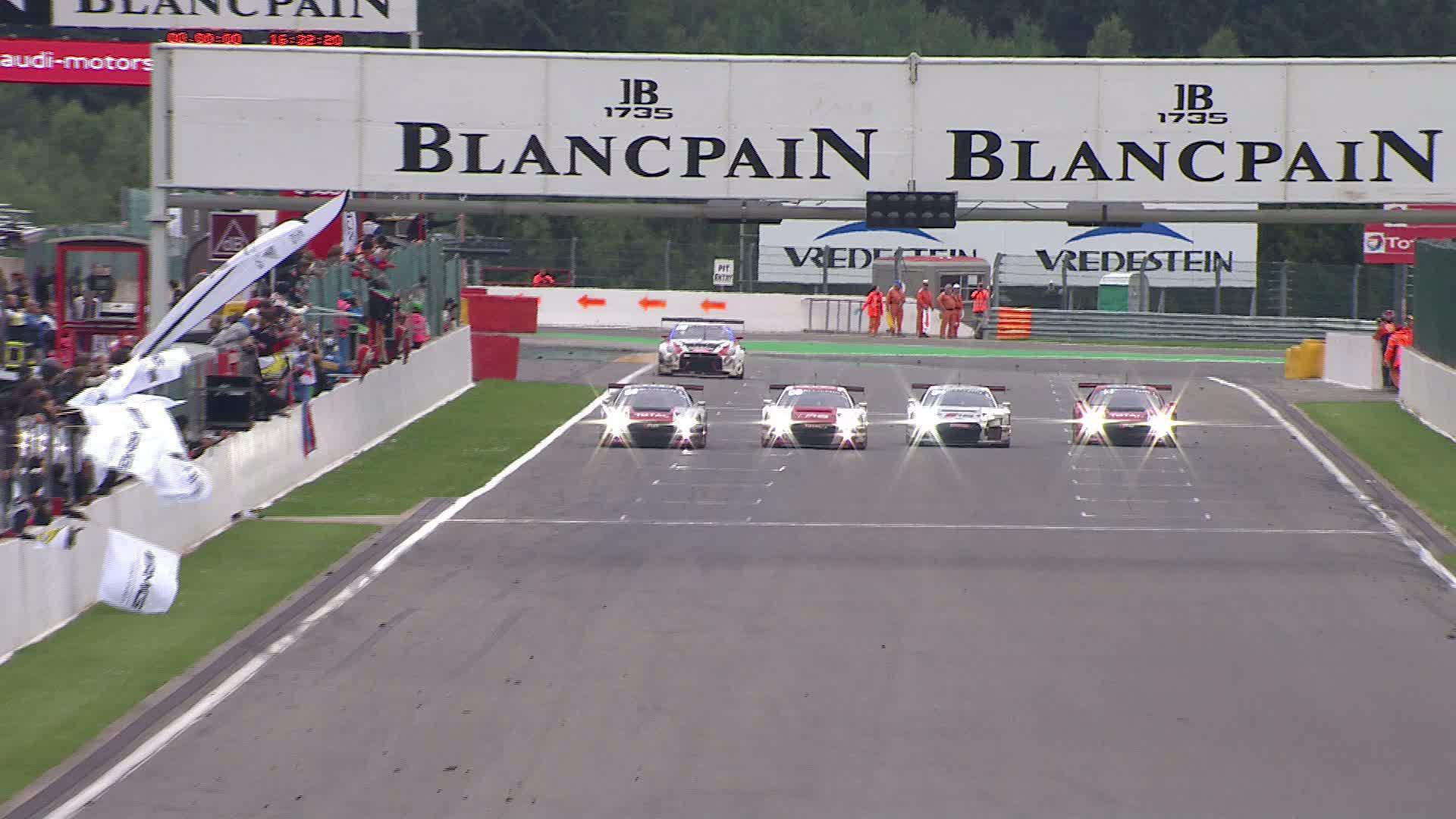 60 Seconds of Audi Sport 60/2015 – 24h Spa, Finish