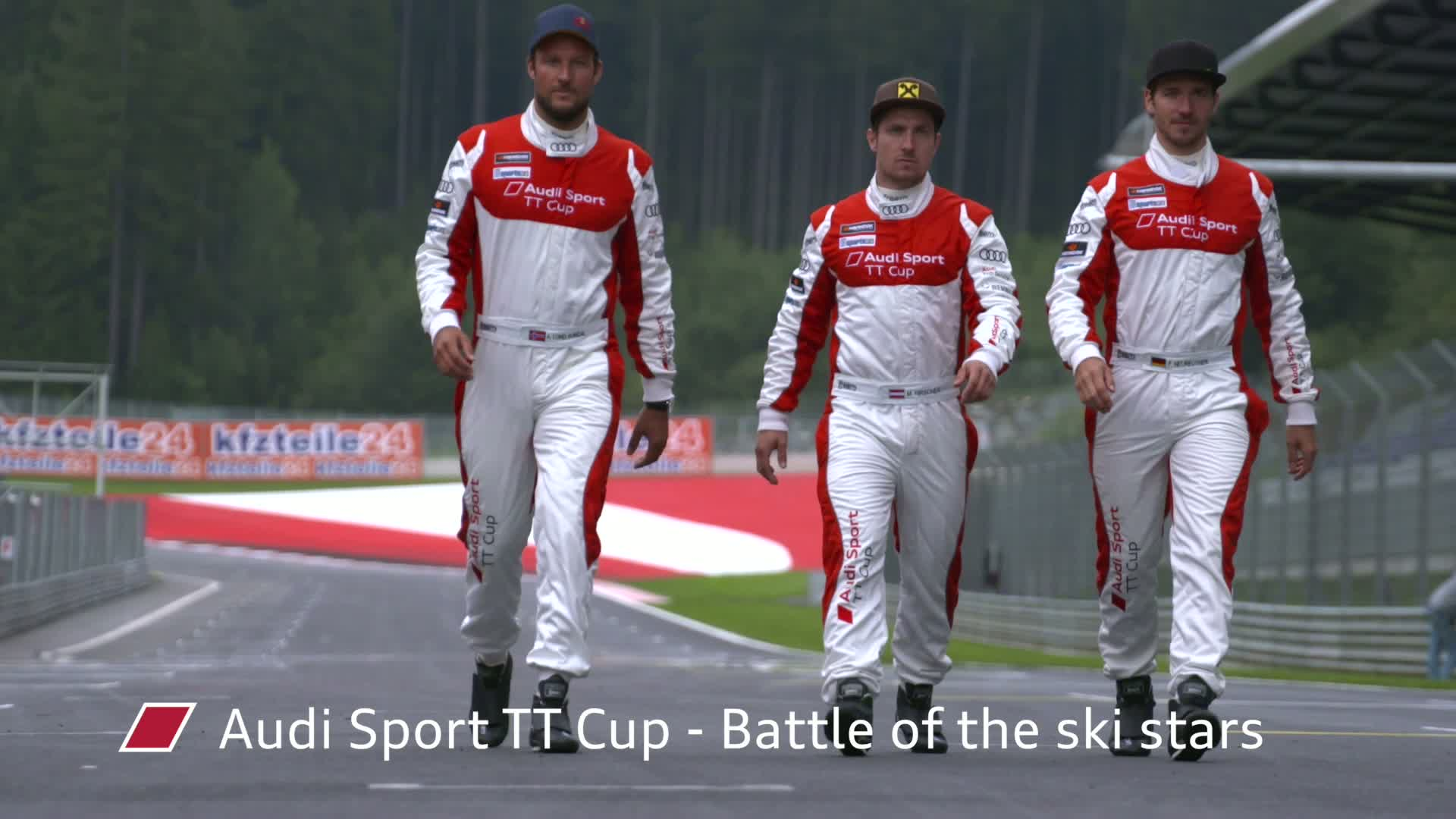 60 Seconds of Audi Sport 67/2015 - Audi Sport TT Cup, Battle of the ski stars