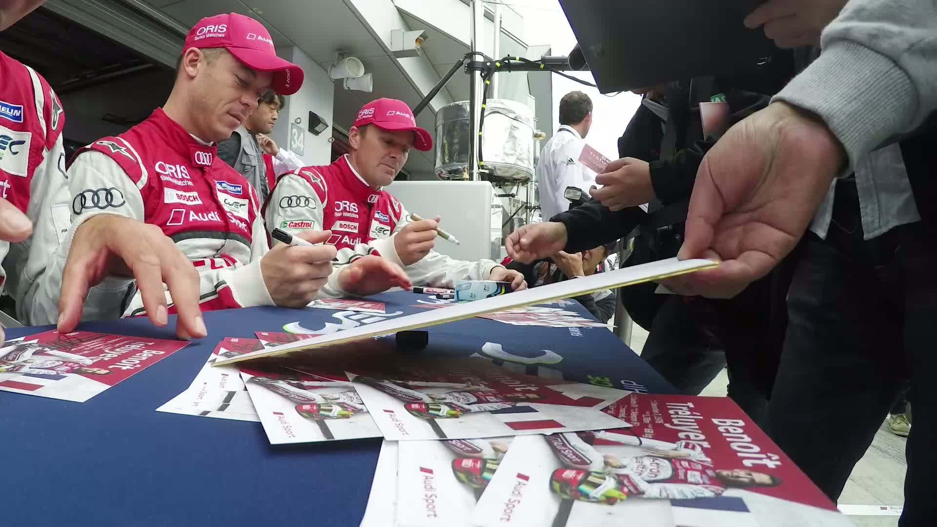 60 Seconds of Audi Sport 92/2015 - WEC Fuji, Fans and friendship