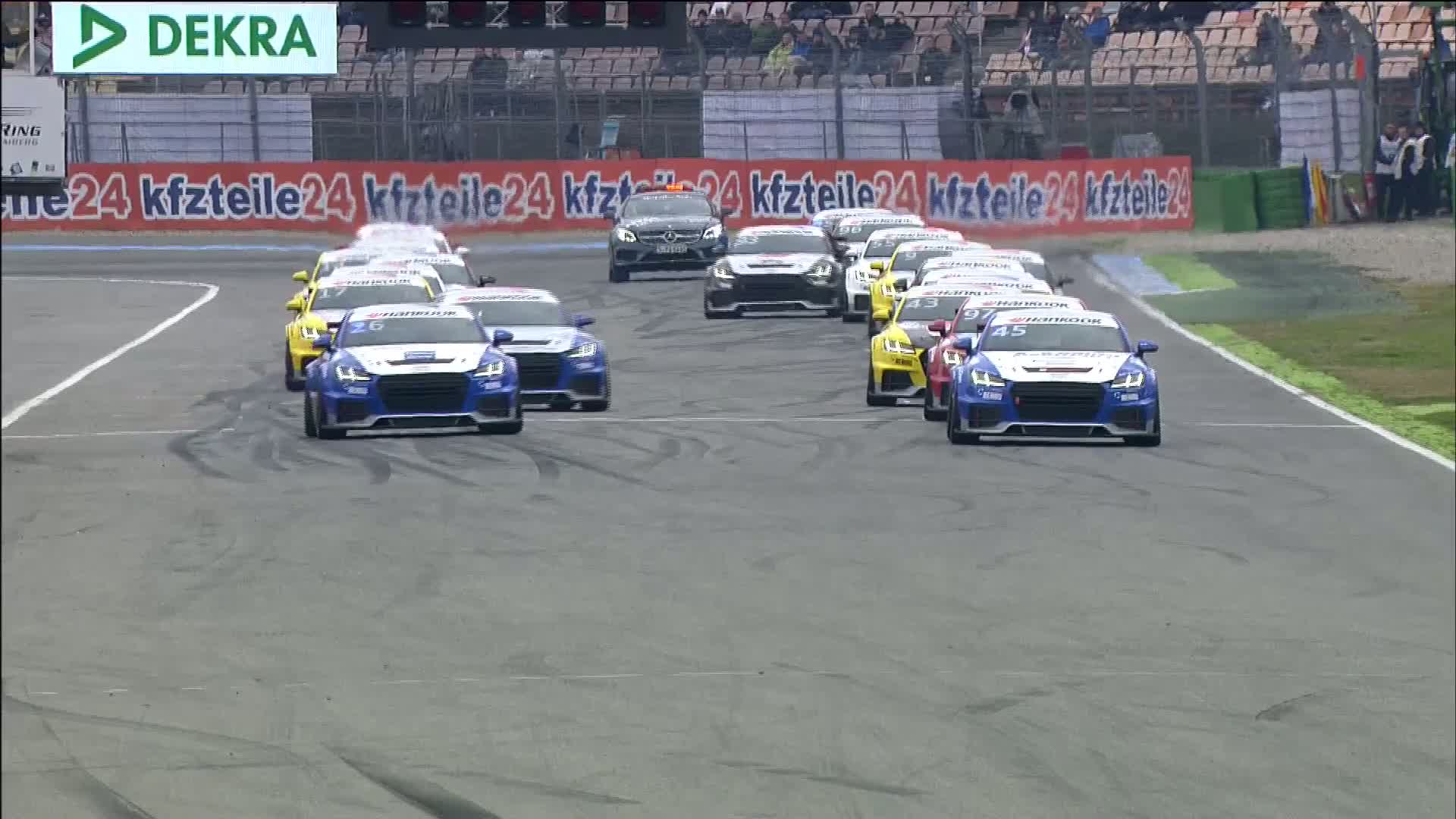 60 Seconds of Audi Sport 96/2015 - TT Cup Hockenheim, Race 1
