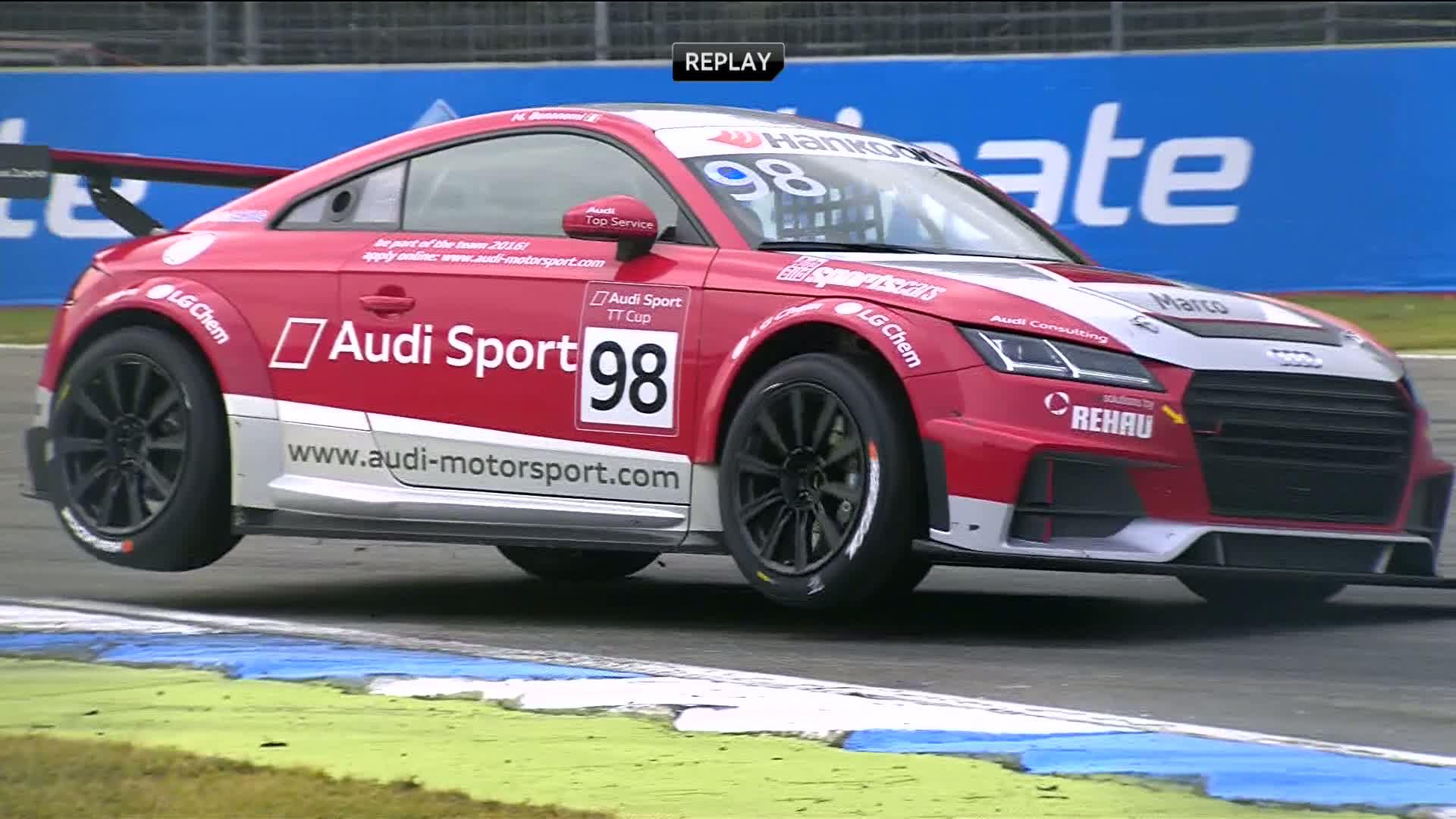 60 Seconds of Audi Sport 98/2015 - TT Cup Hockenheim, Race 2