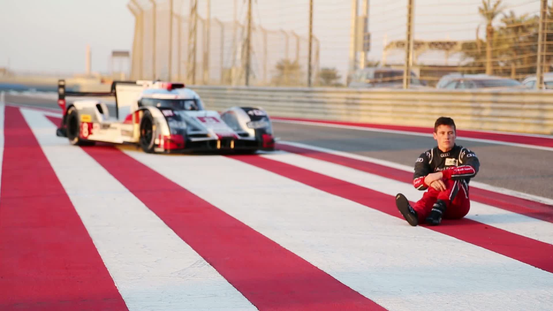 60 Seconds of Audi Sport 104/2015 - WEC Bahrain, Rookie Test