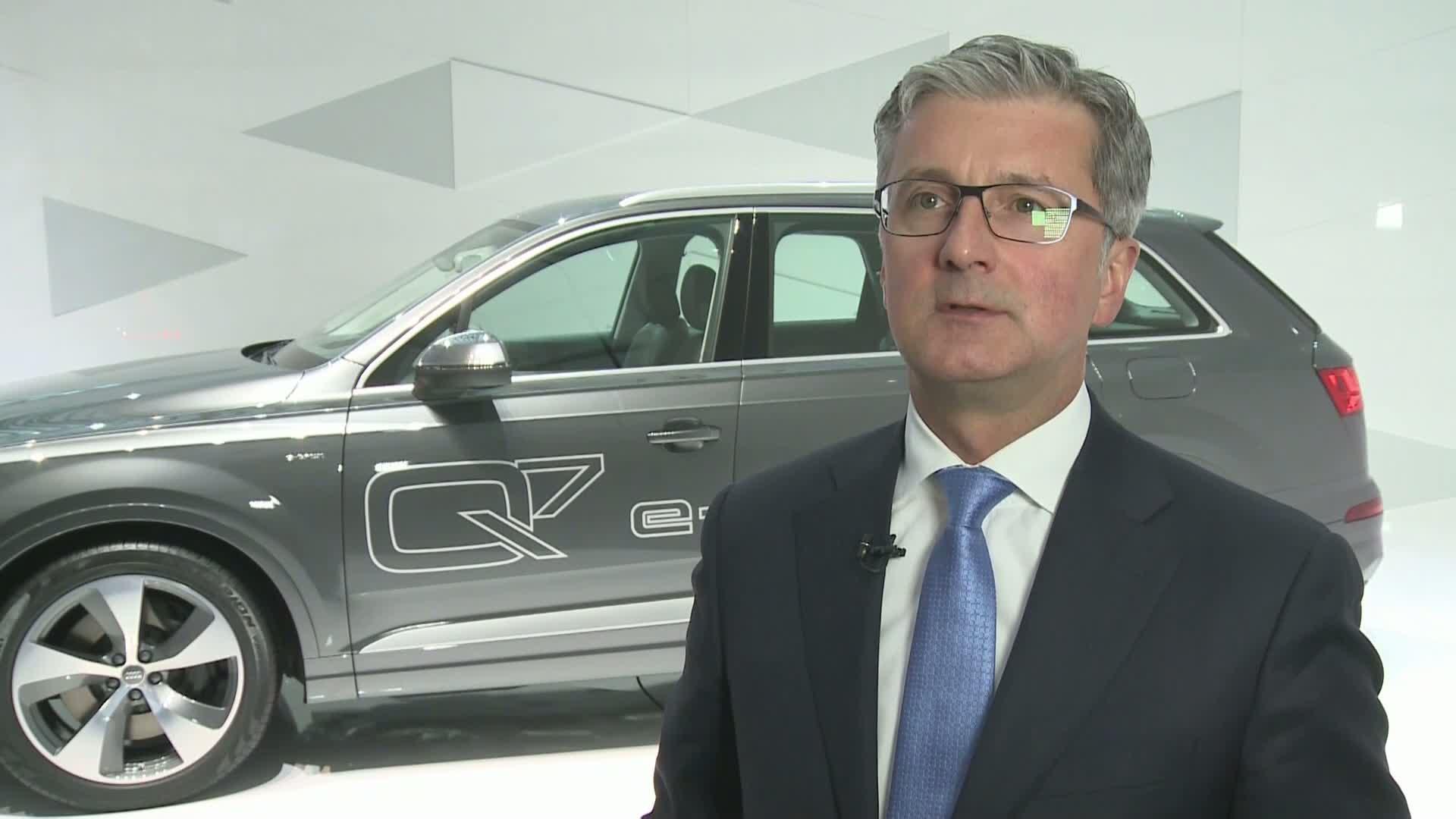 Audi Jahrespressekonferenz 2015 - Statements