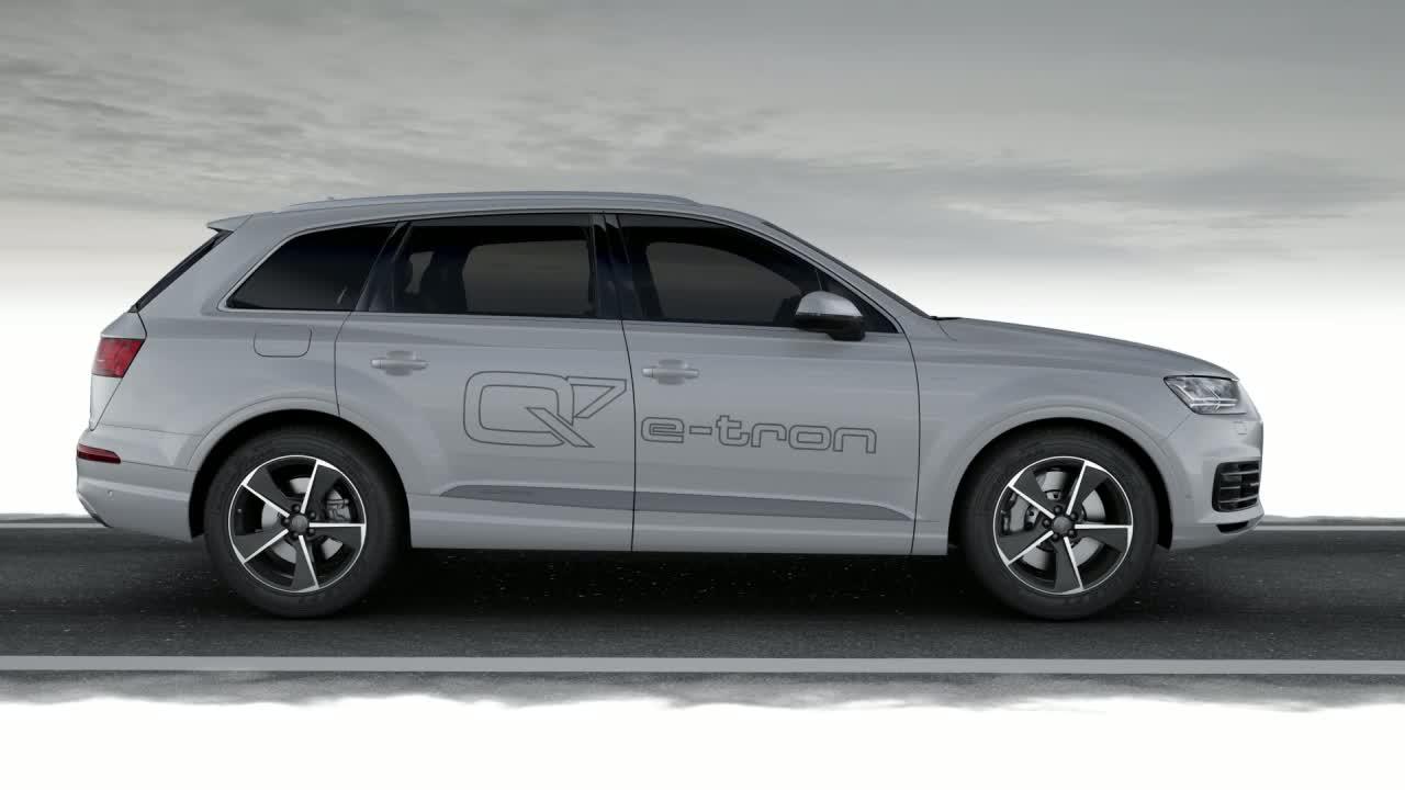 Audi Q7 e-tron 3.0 TDI quattro - Animation