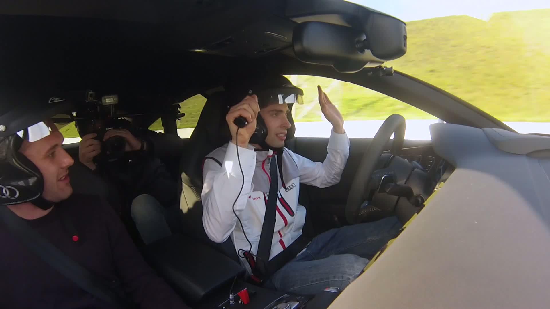 Vorab getestet: Audi RS 7 piloted driving concept