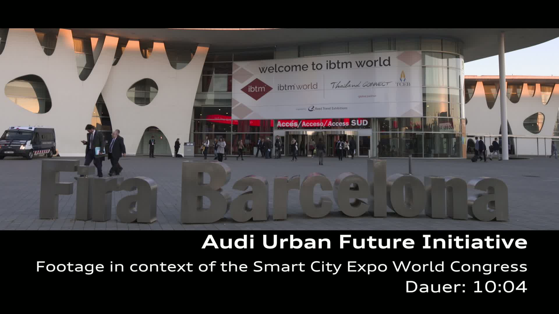 Audi Urban Future Initiative - Footage