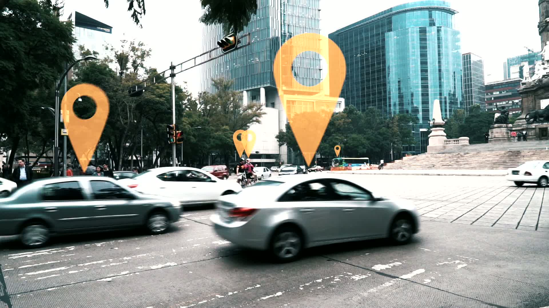 Intelligent traffic management for Mexico City